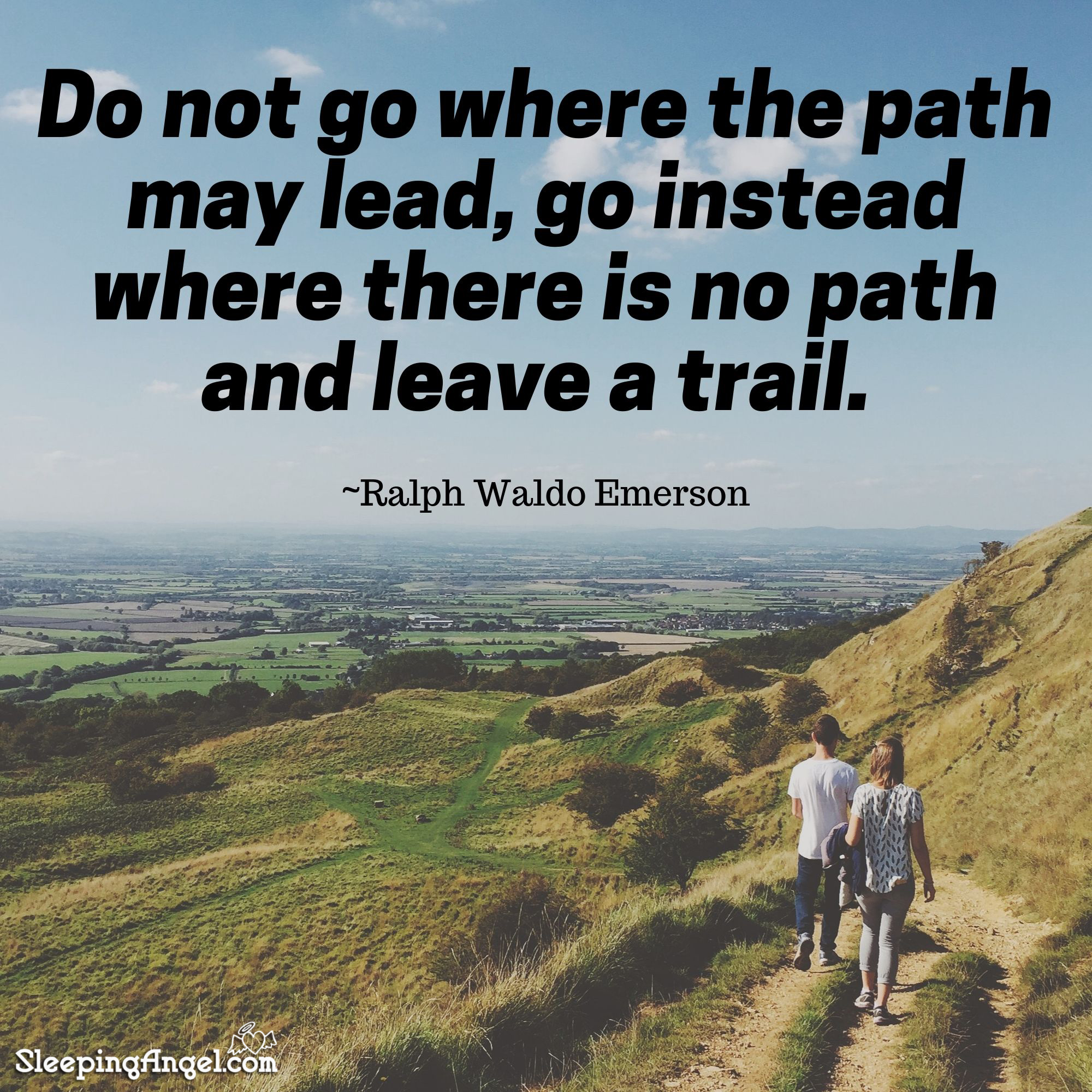 Leave a Trail Quote