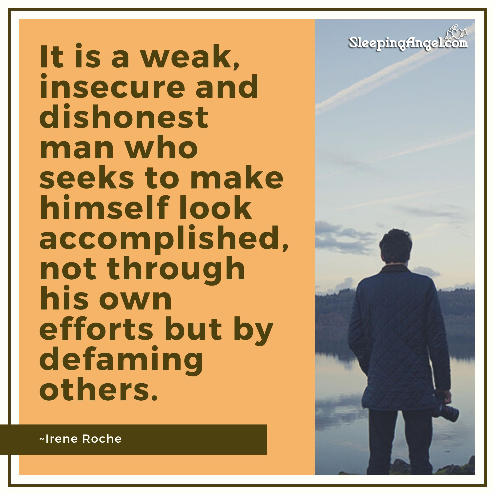 Defaming Others Quote