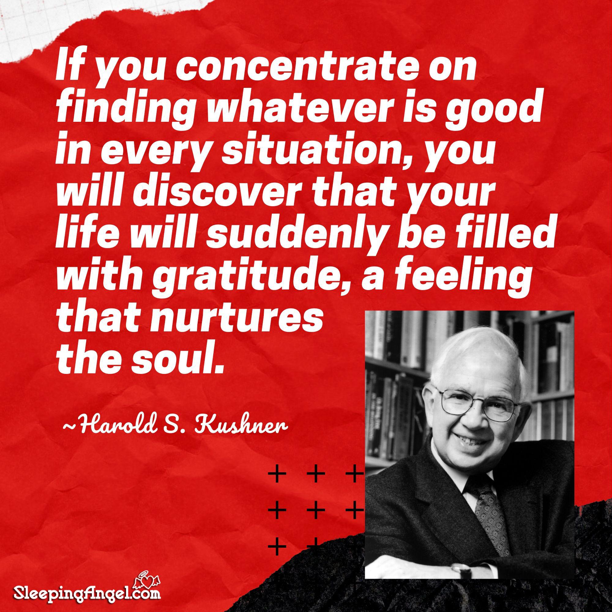 Harold Kushner Quote