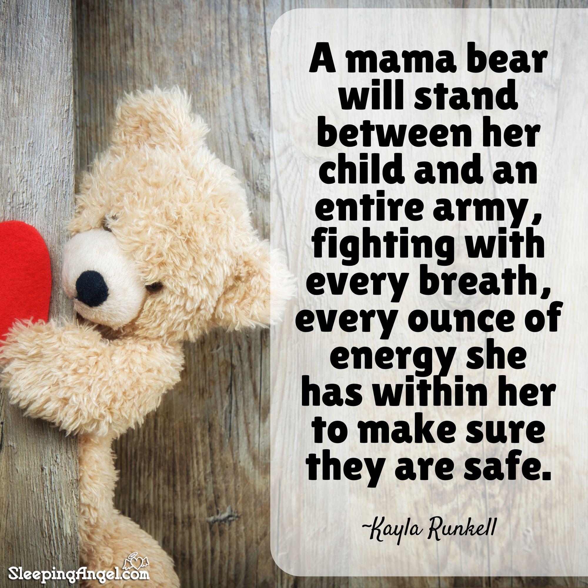 Mama Bear Quote