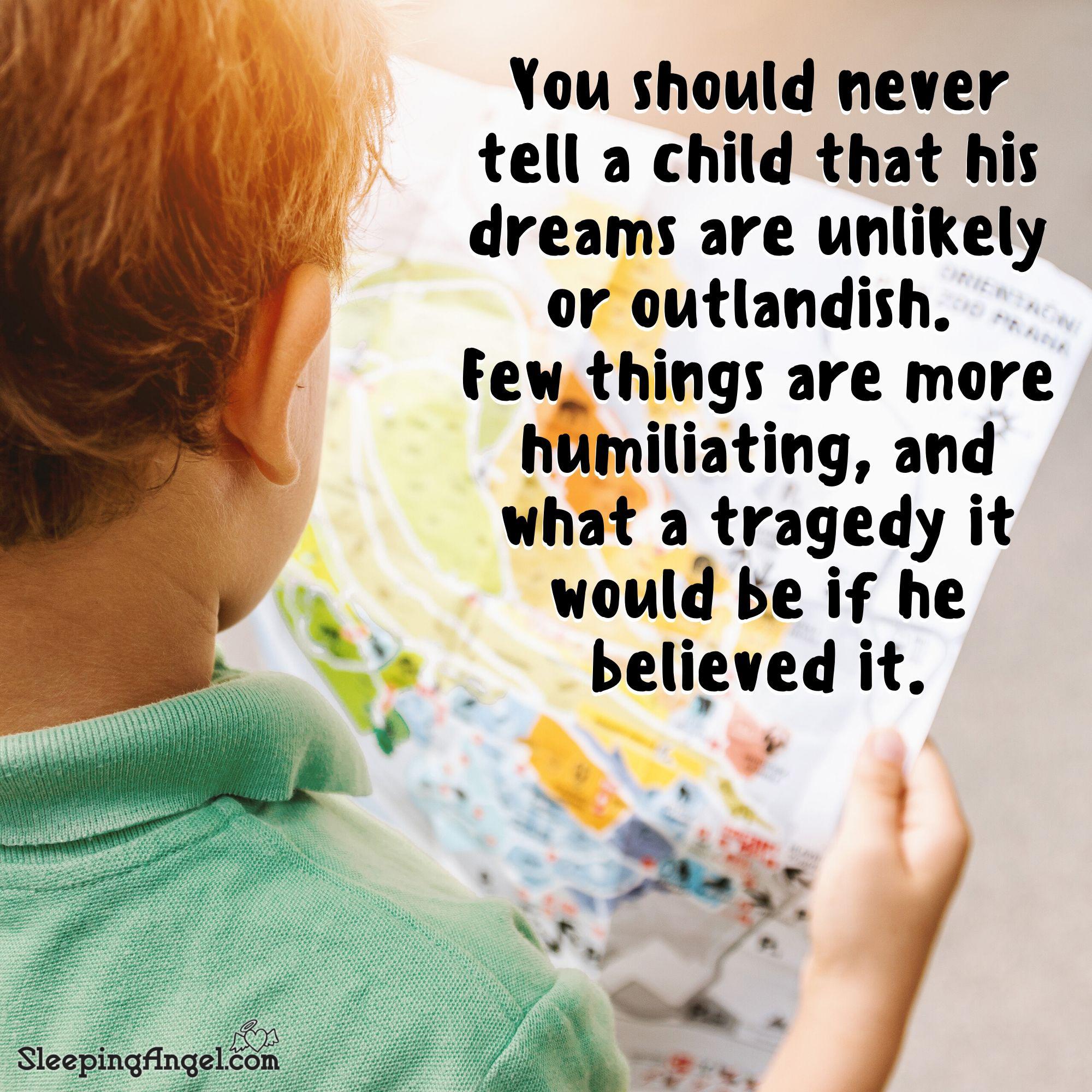 Children's Dreams Quote