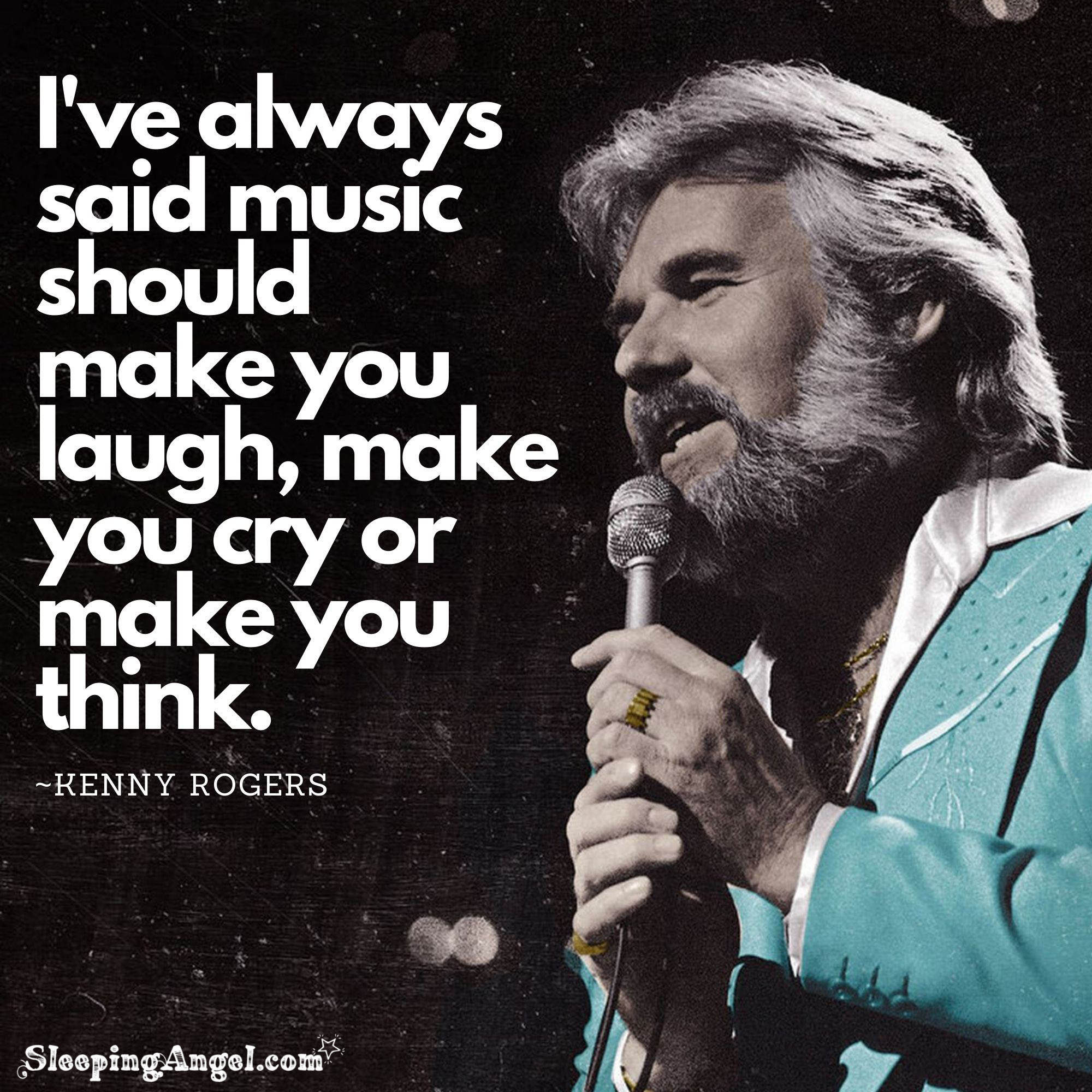 Kenny Rogers Quote