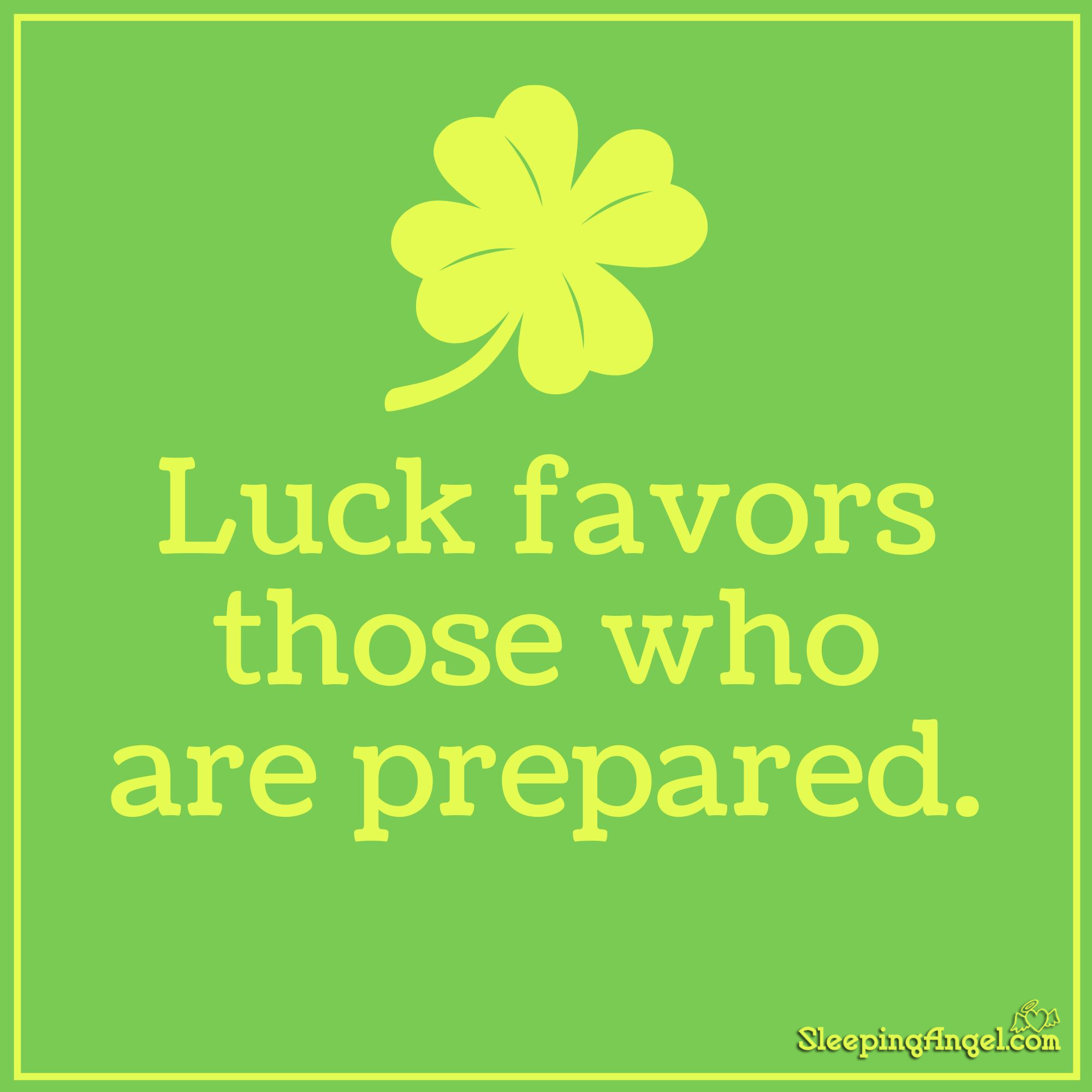 Luck Quote