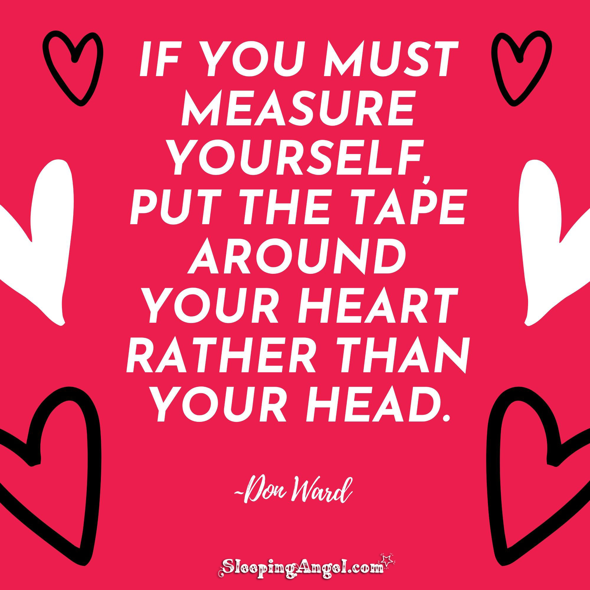 Measuring Yourself Quote