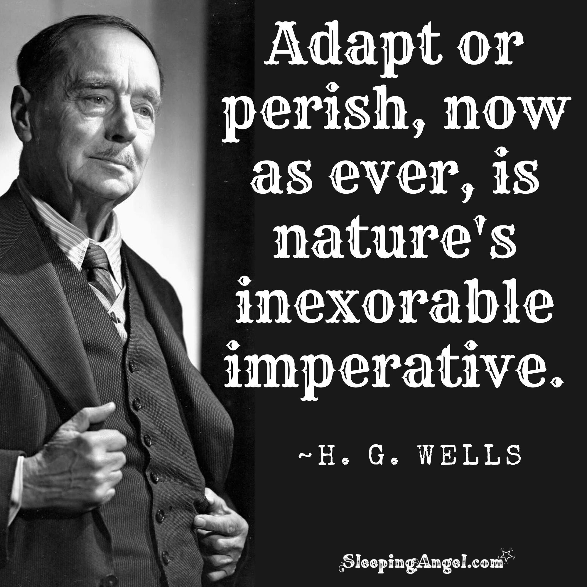 H. G. Wells Quote