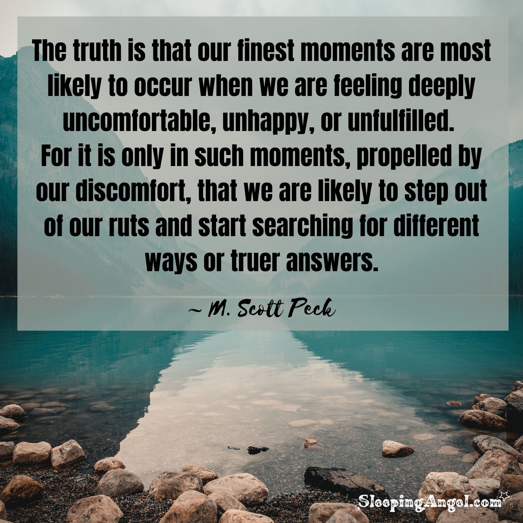 Finding Your Truth Quote