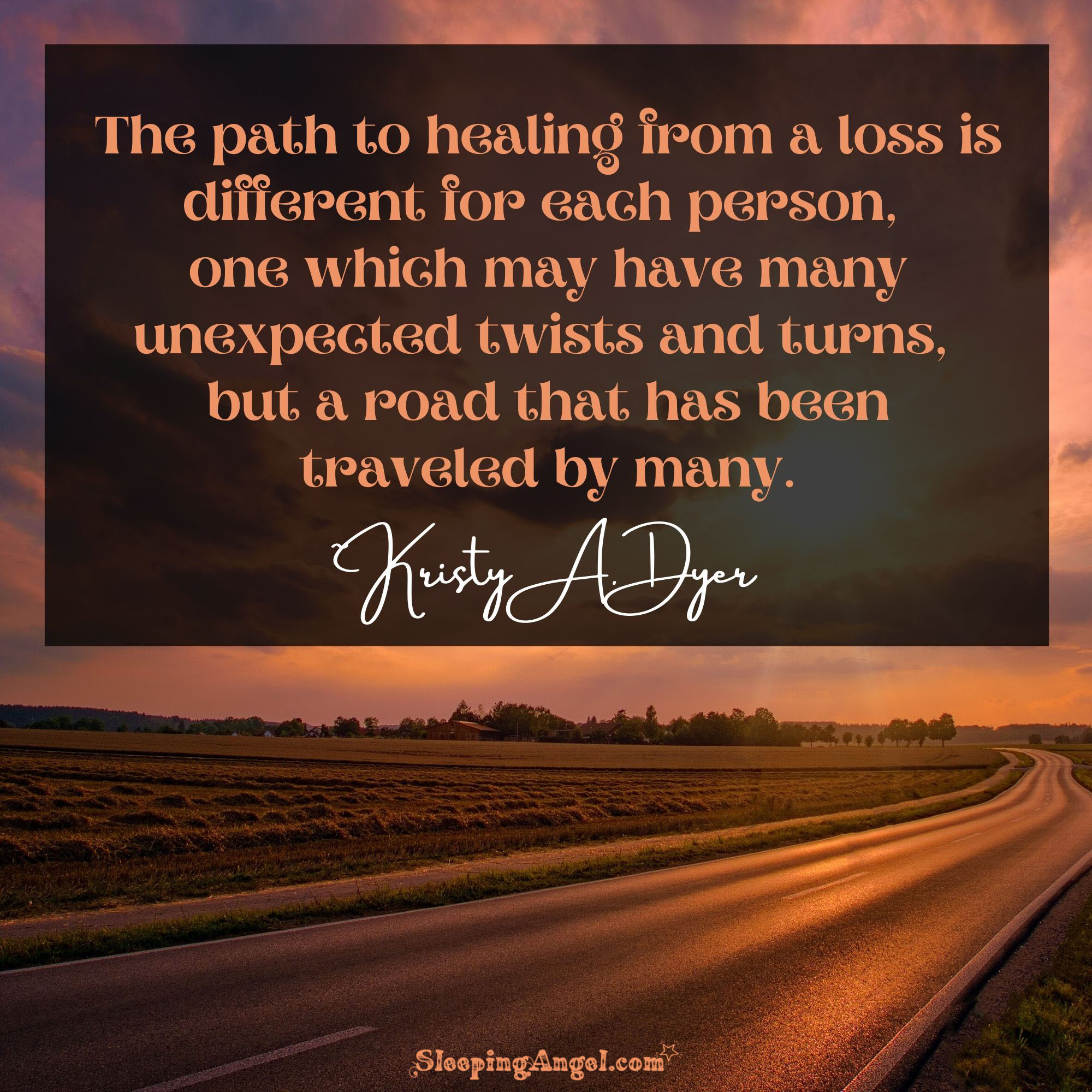 Healing From Loss Quote
