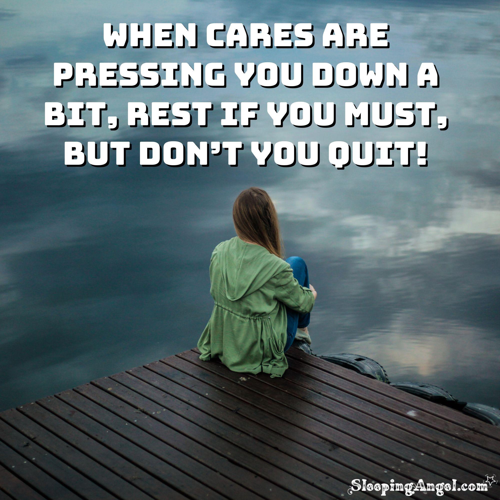 Don't Quit Quote