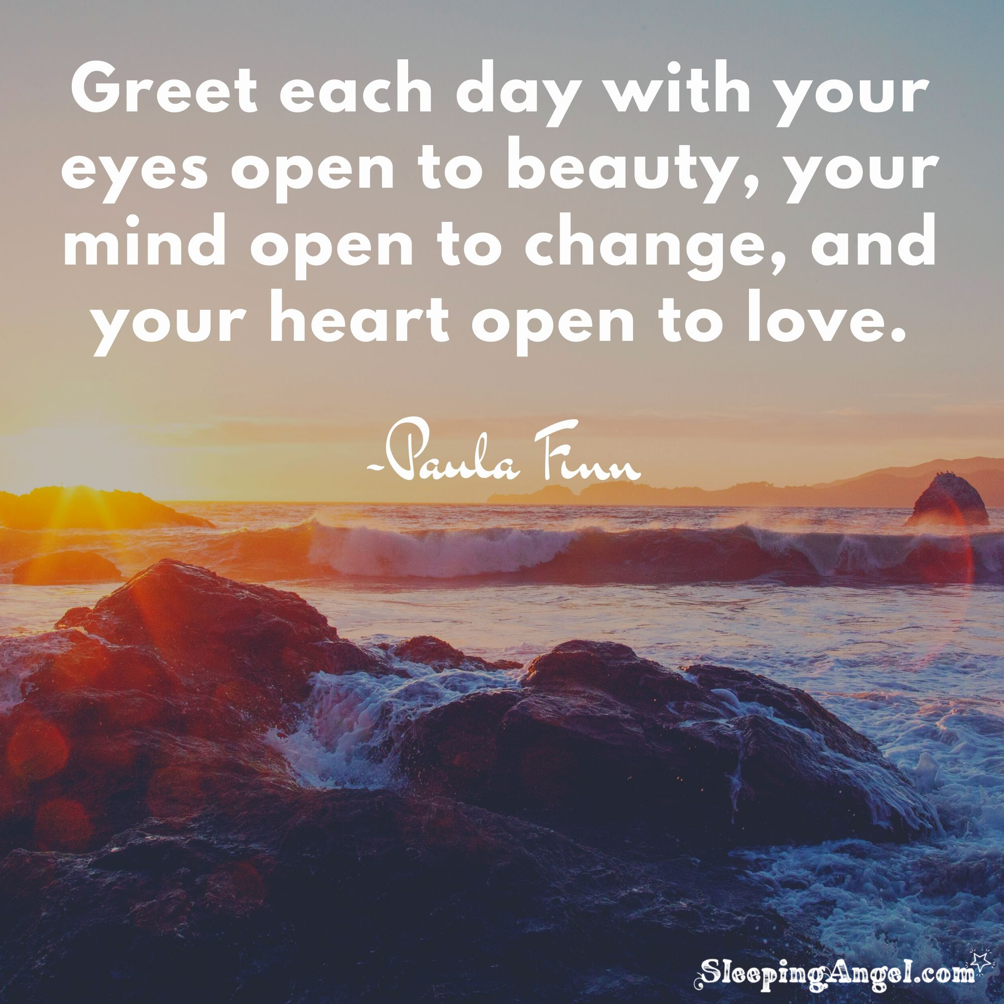 Greet Each Day Quote