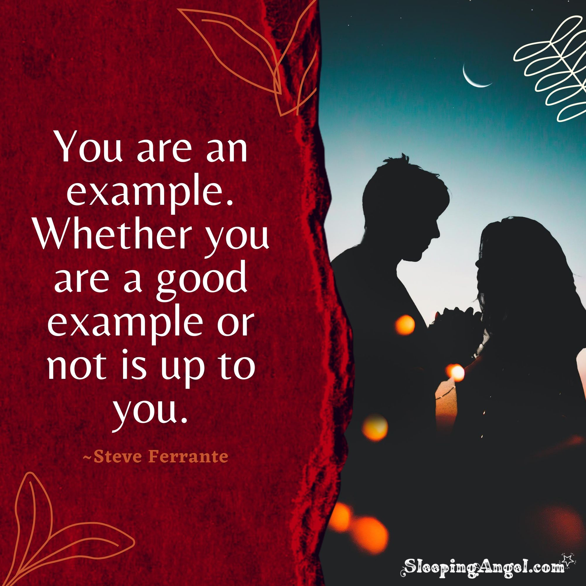 Being an Example Quote