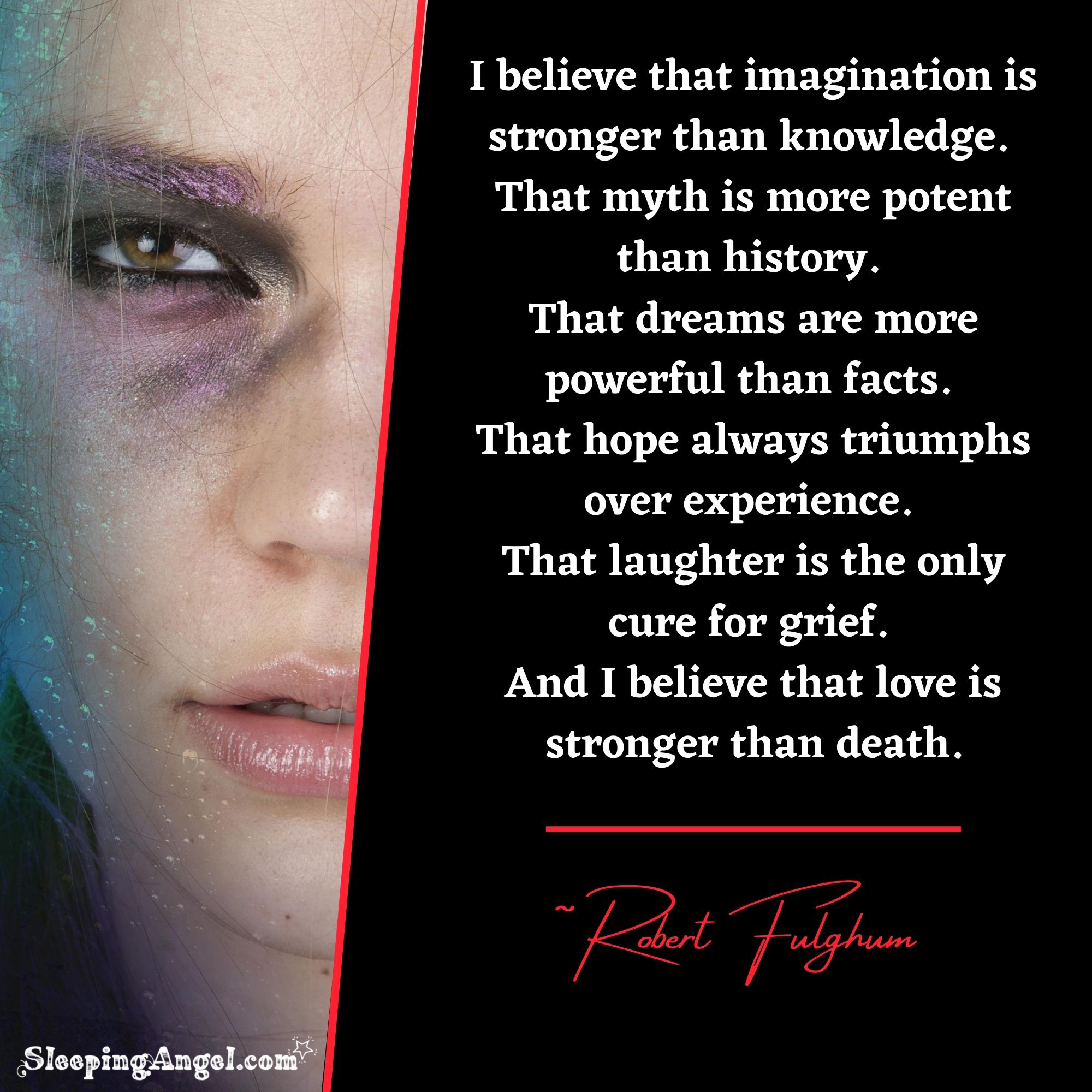 I Believe… Quote