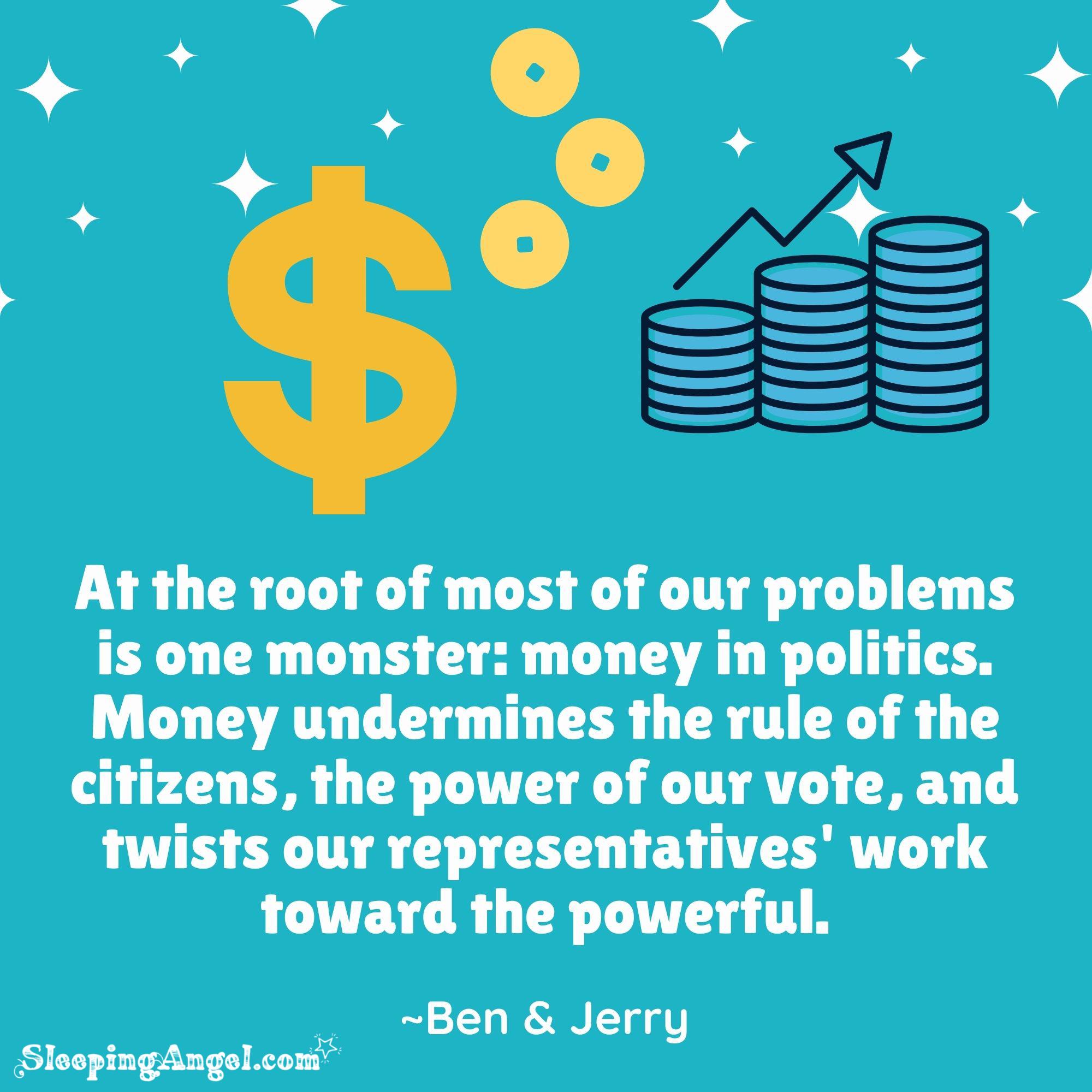 Money in Politics Quote