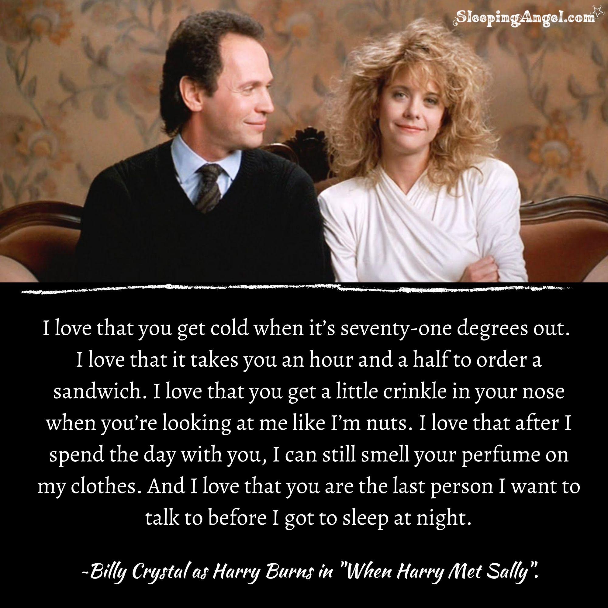 When Harry Met Sally Quote