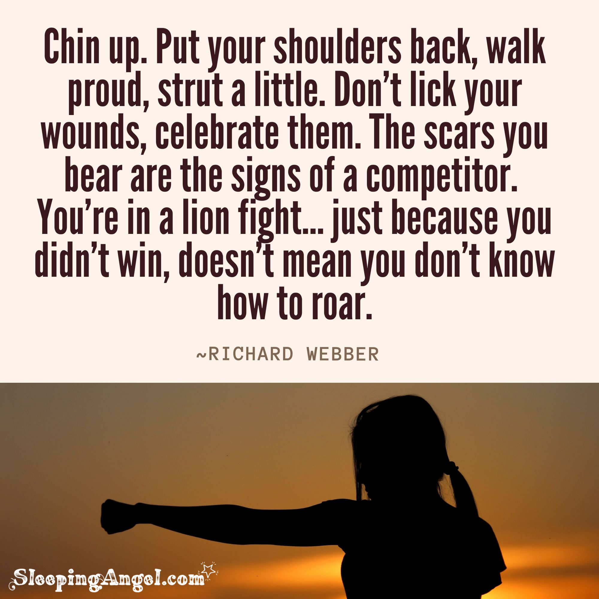 Chin Up Quote