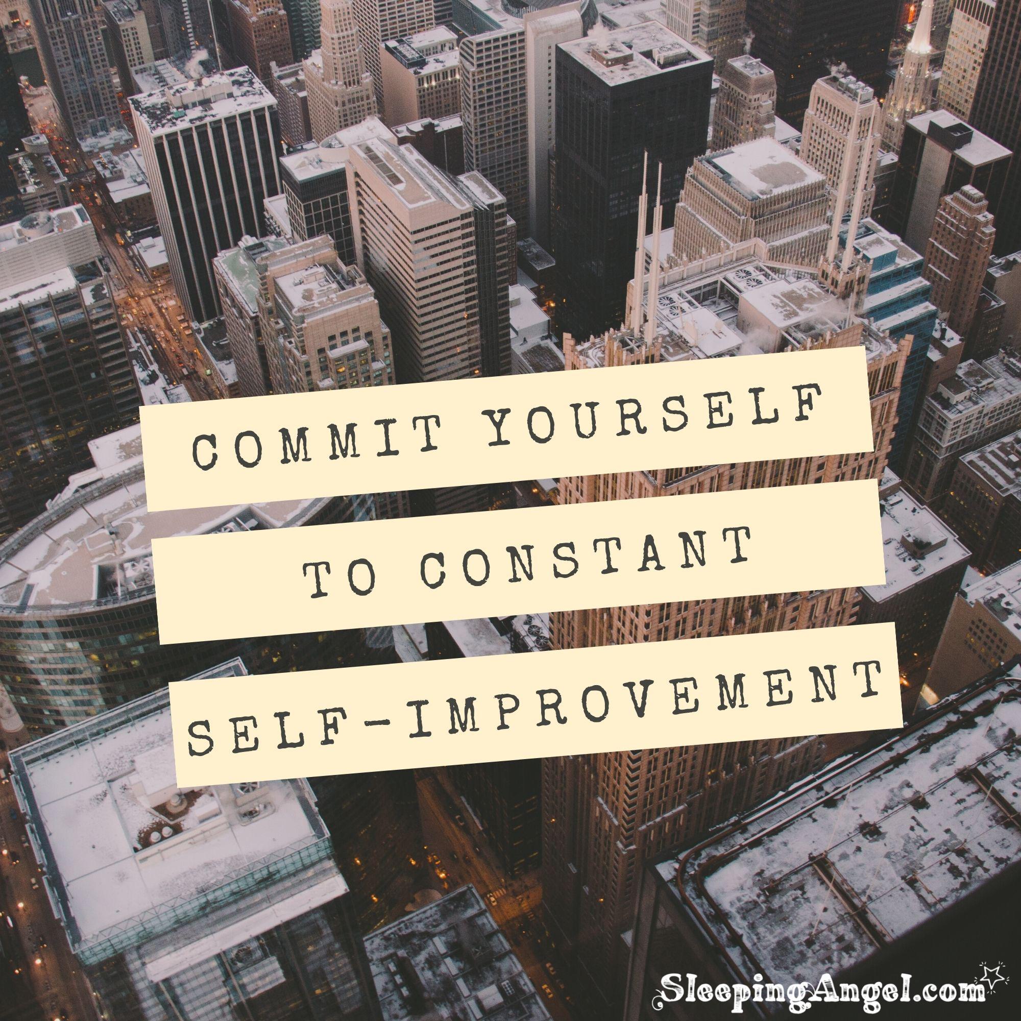 Self-Improvement Quote