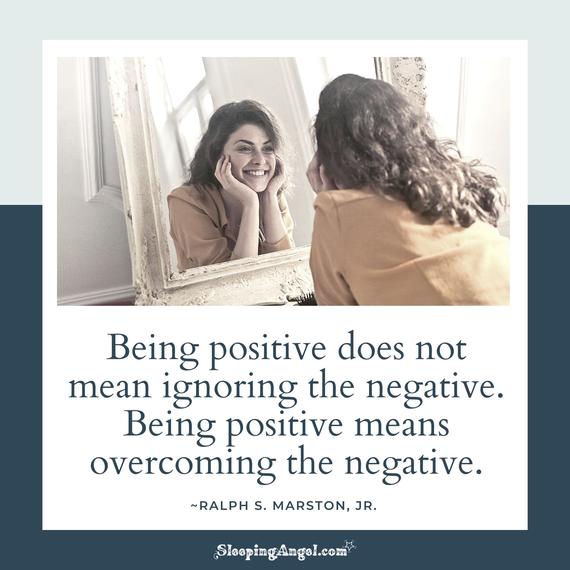 Being Positive Quote