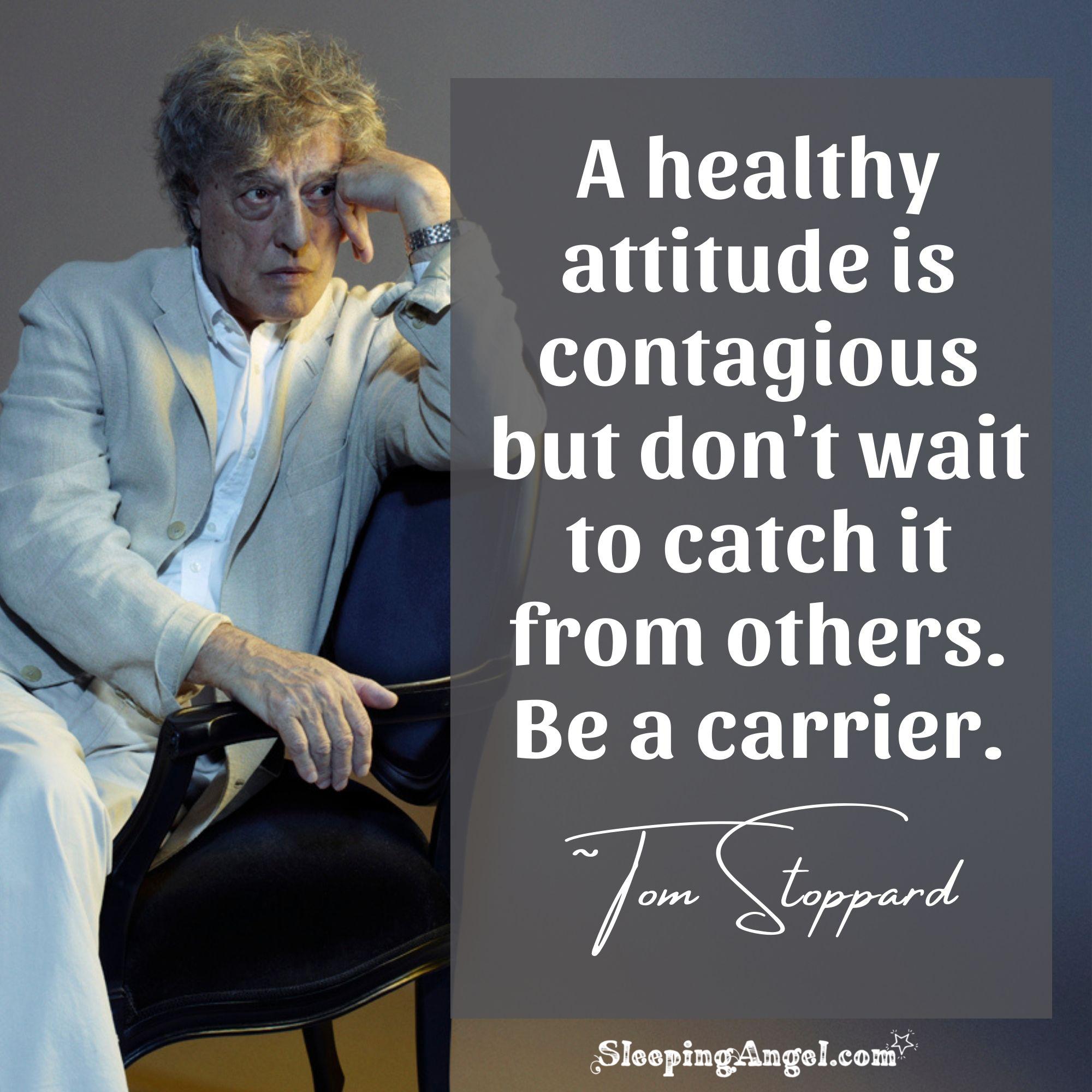 Healthy Attitude Quote