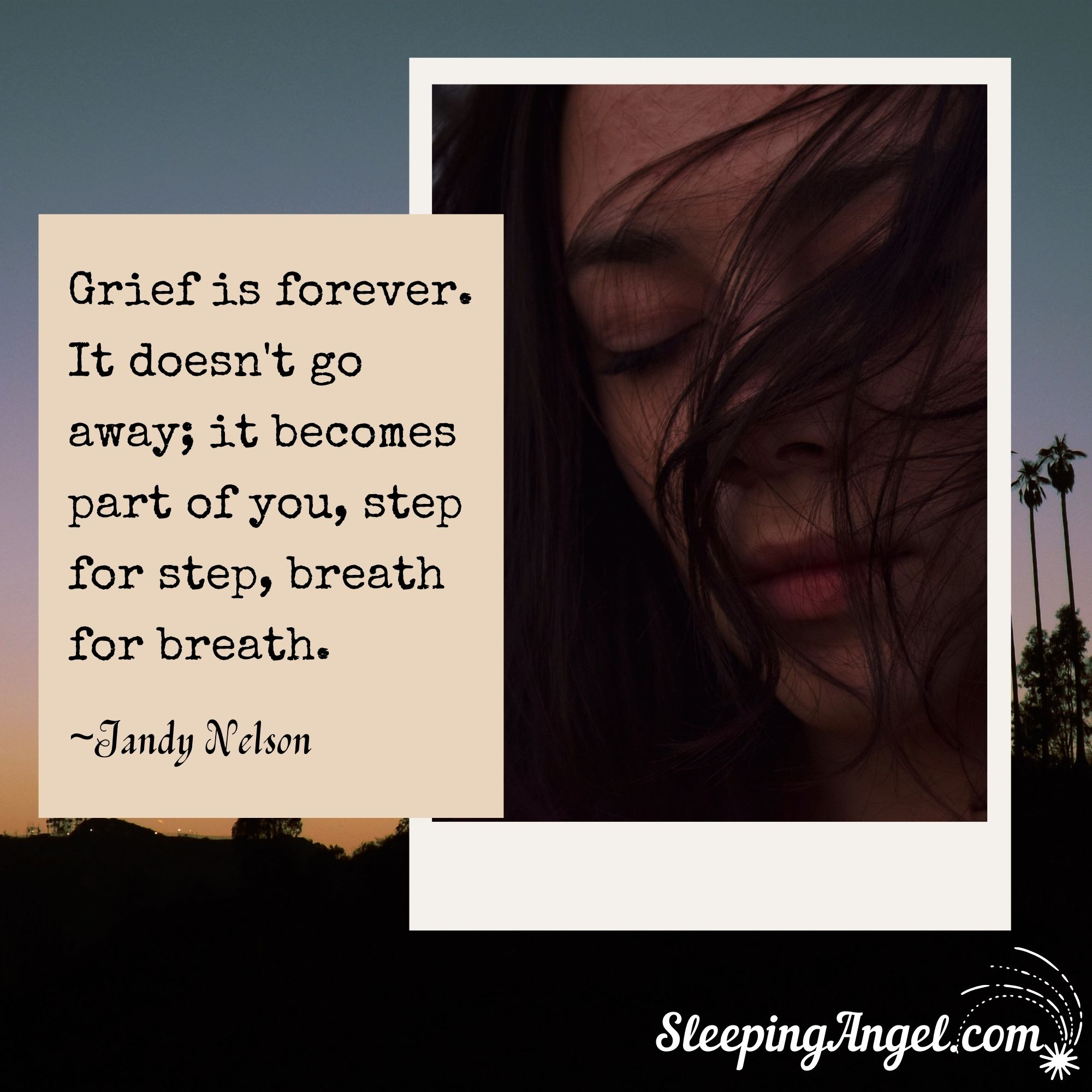 Grief is Forever Quote