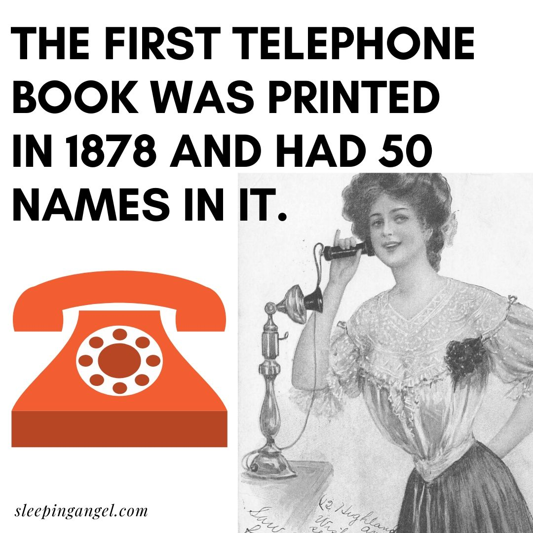 Did You Know? The first Phone Book