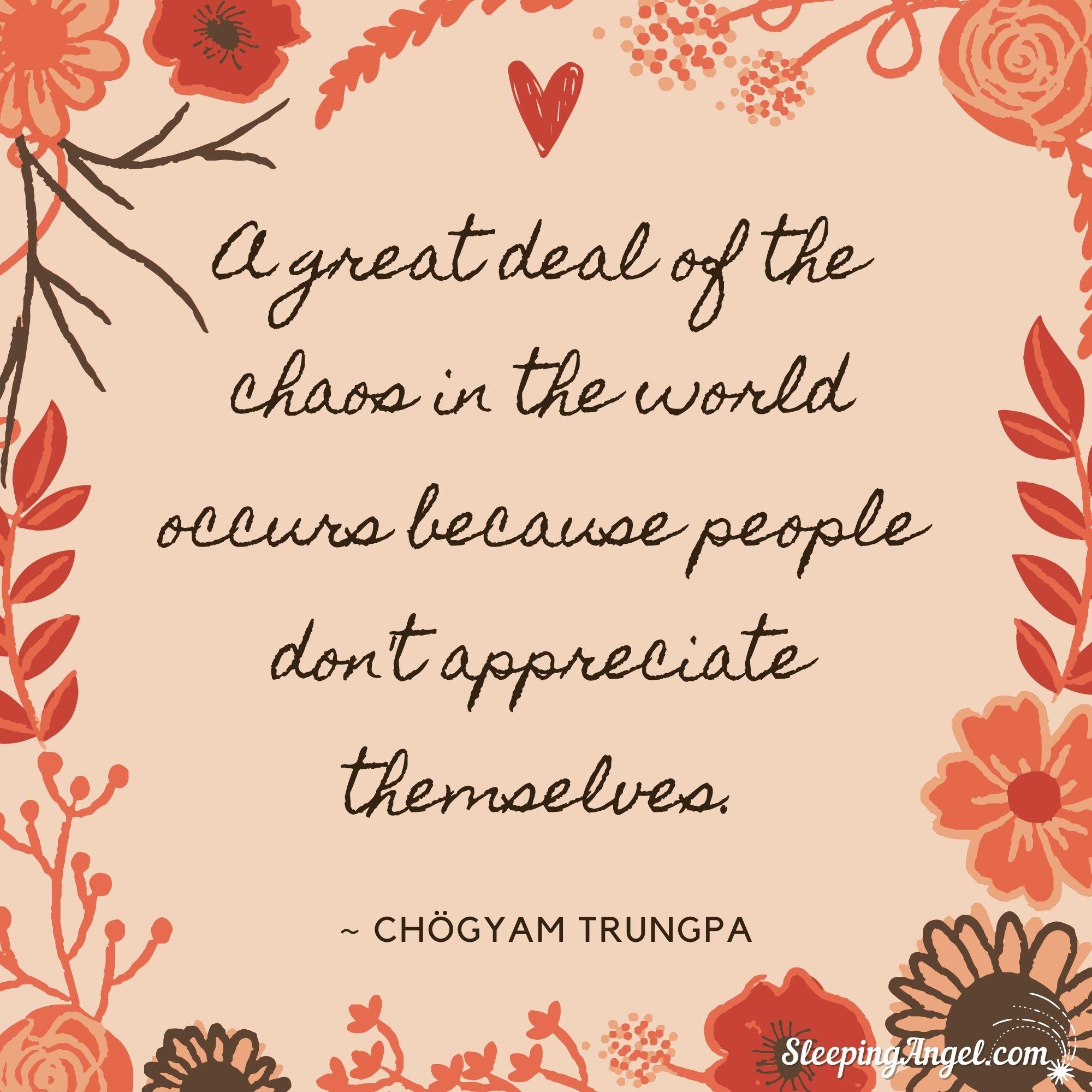 Appreciate Yourself Quote