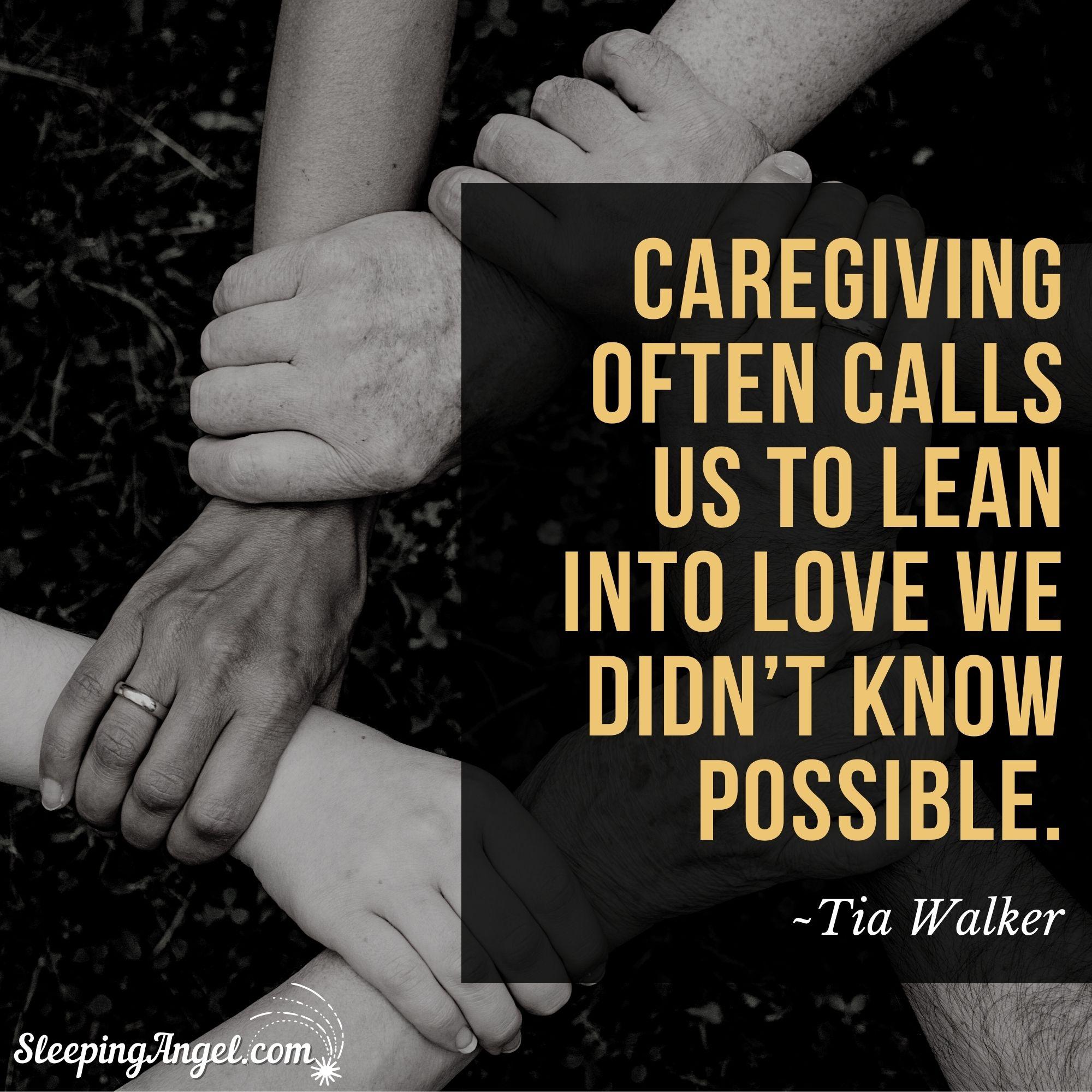 Caregiving Quote
