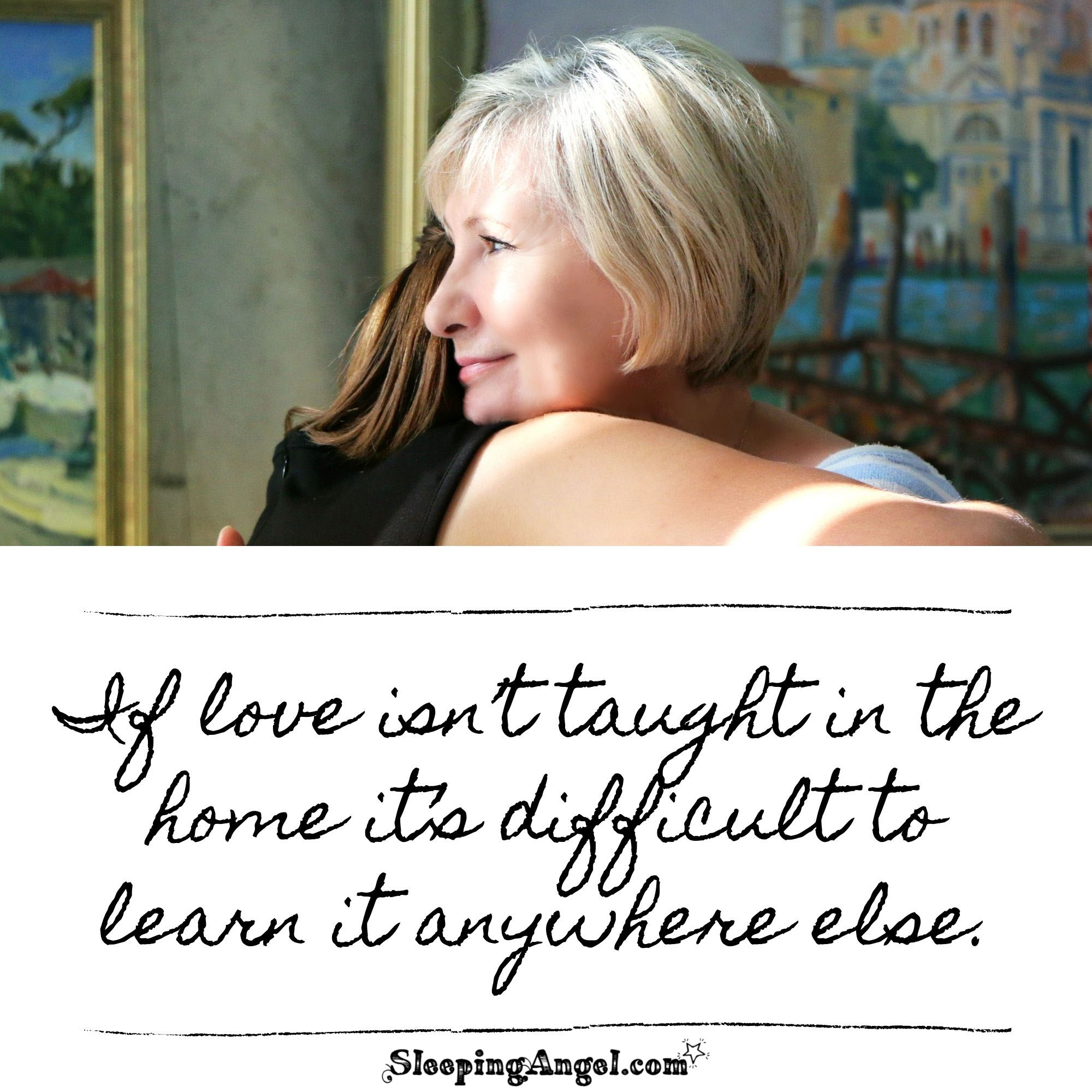 Love at Home Quote