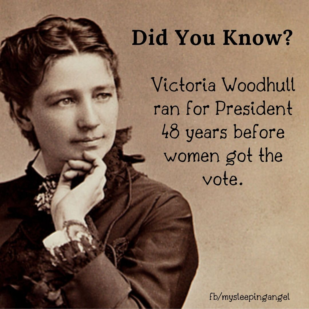 Did You Know? Victoria Woodhull