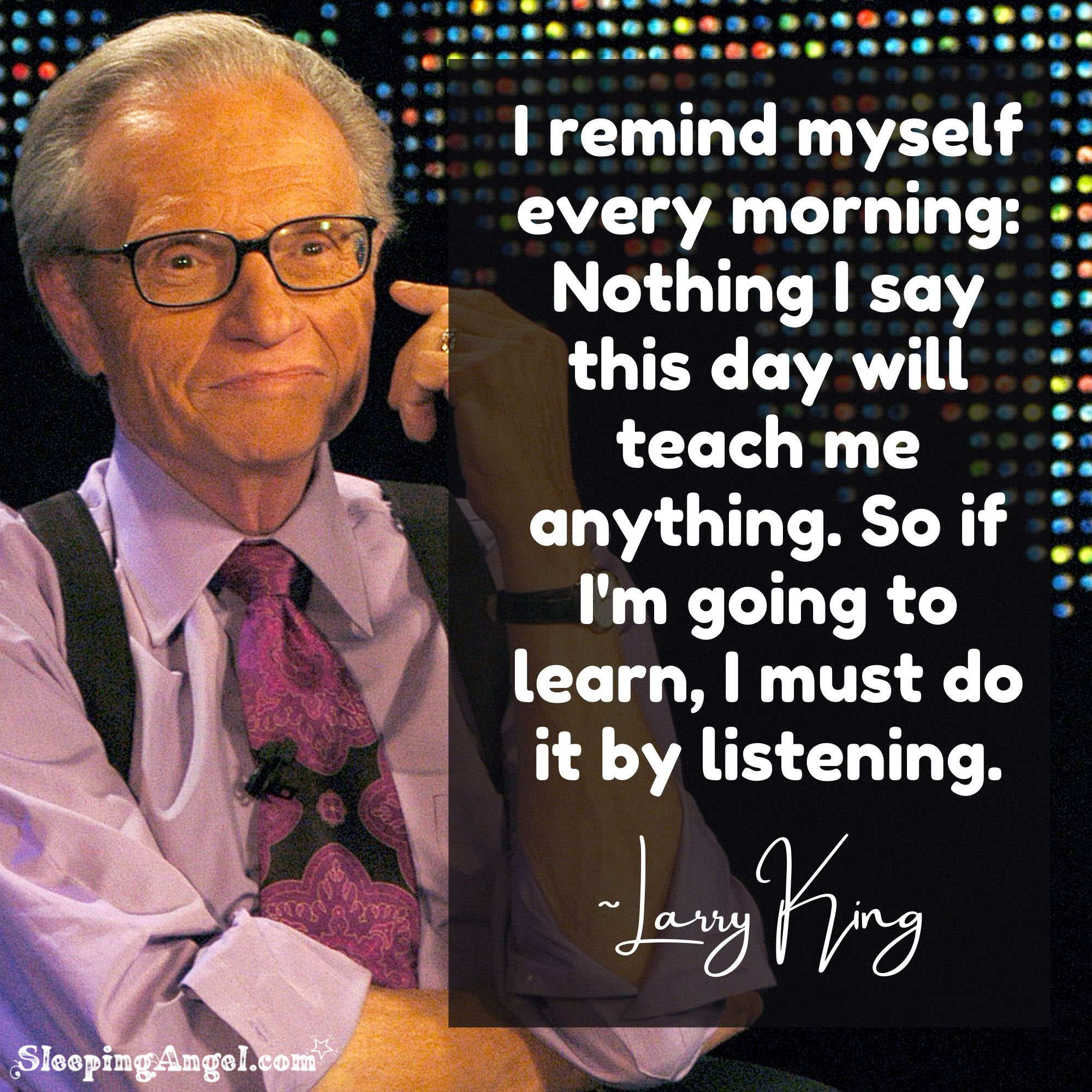 Larry King Quote