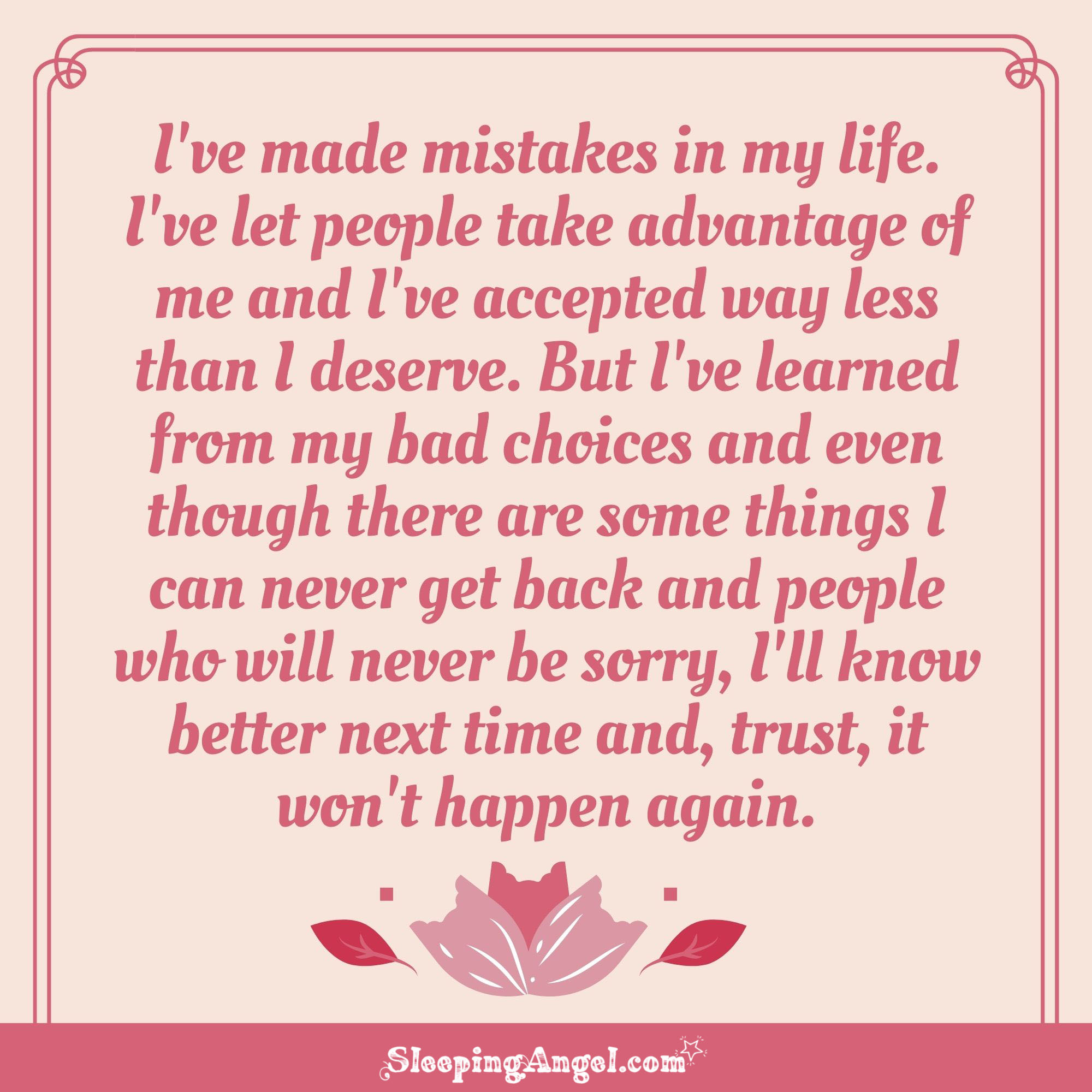 Learning from Mistakes Quote
