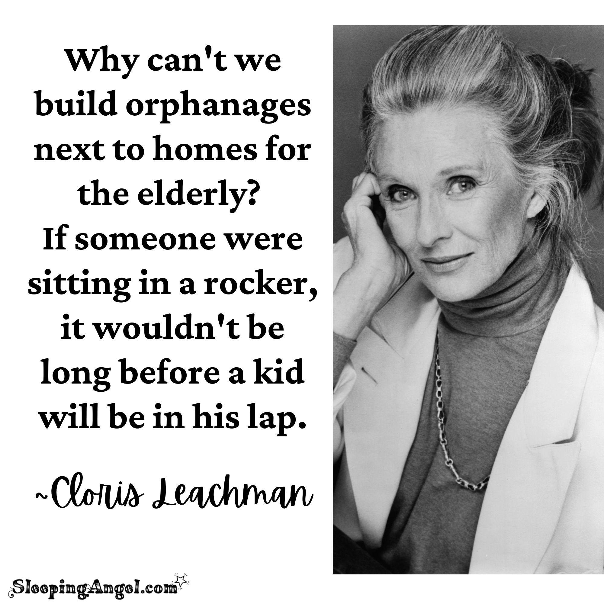 Cloris Leachman Quote