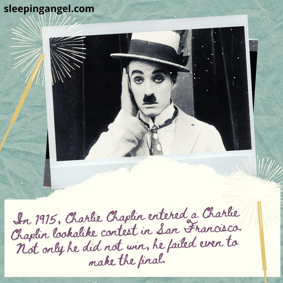 Did You Know? Charlie Chaplin