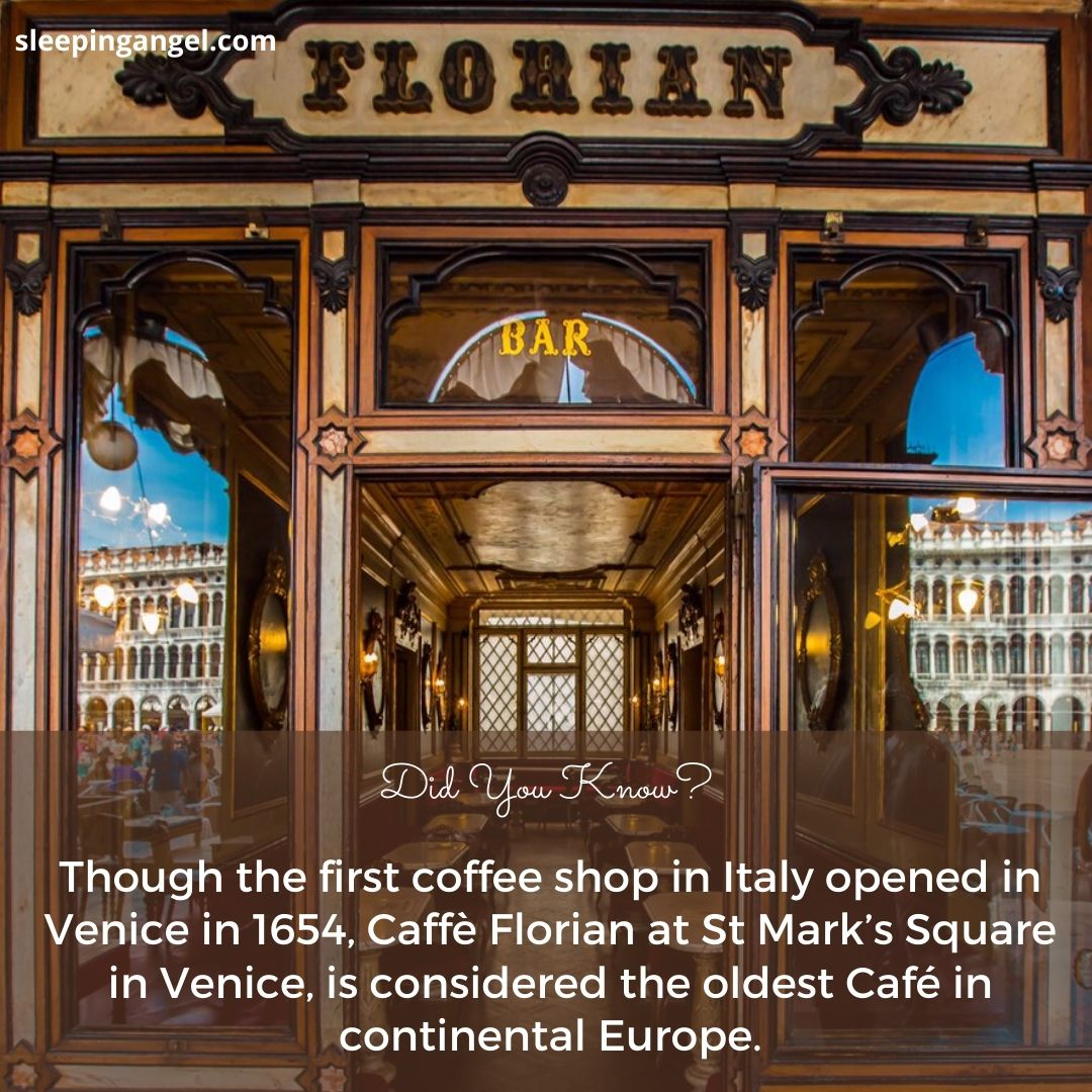 Did You Know? The Oldest Cafe' In Europe
