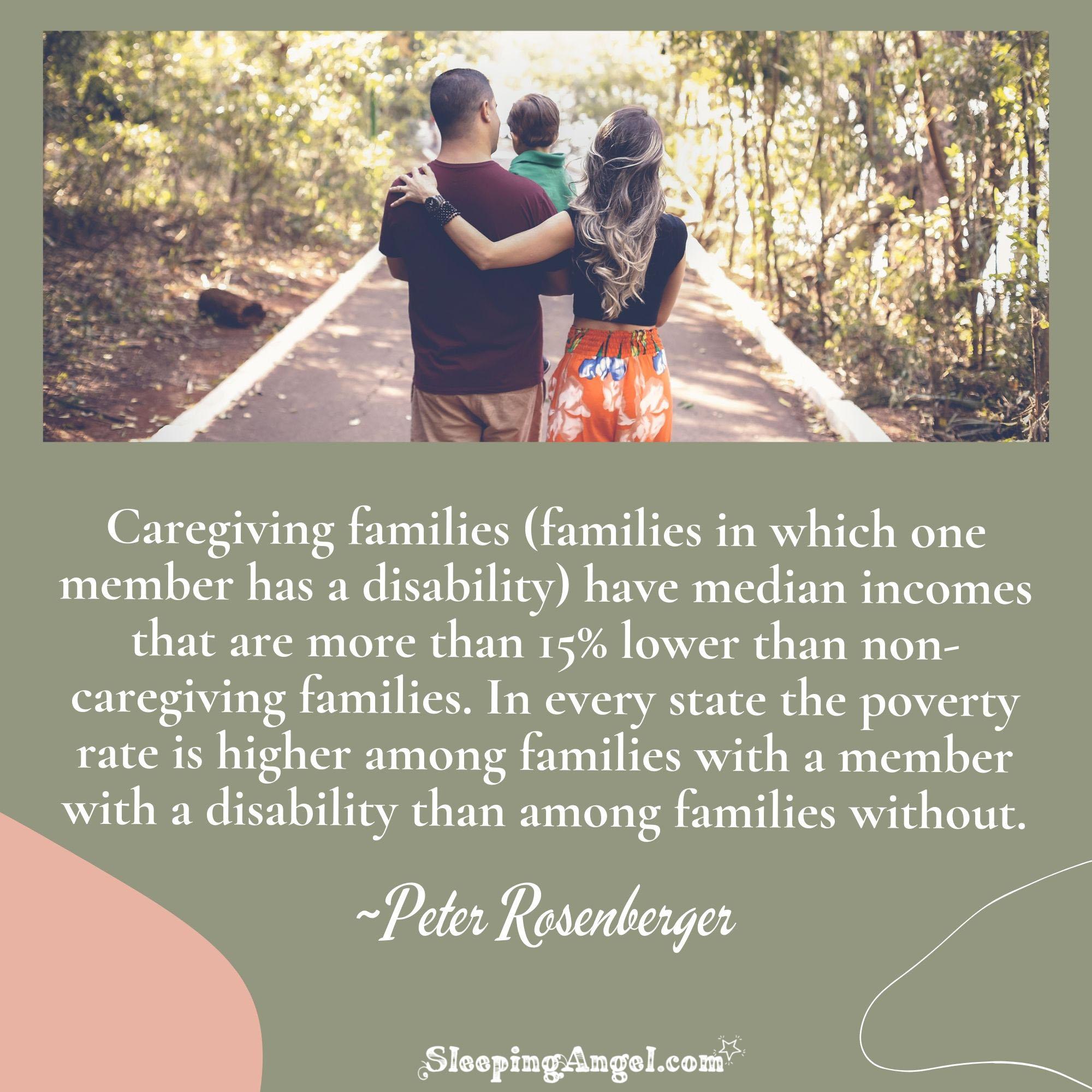 Caregiving Families Quote
