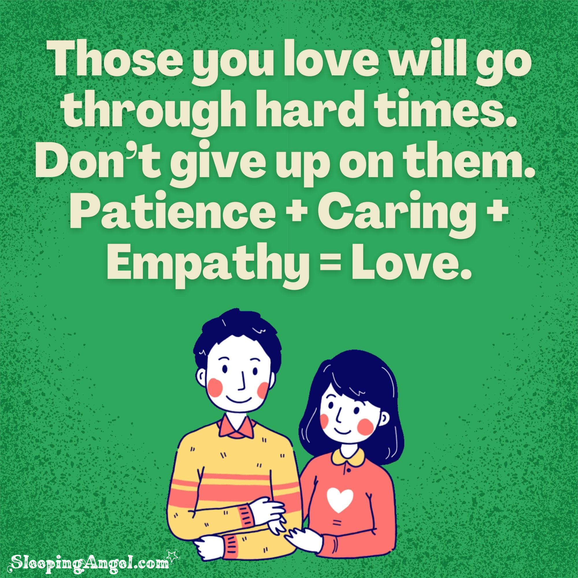 Patience, Caring & Empathy Quote