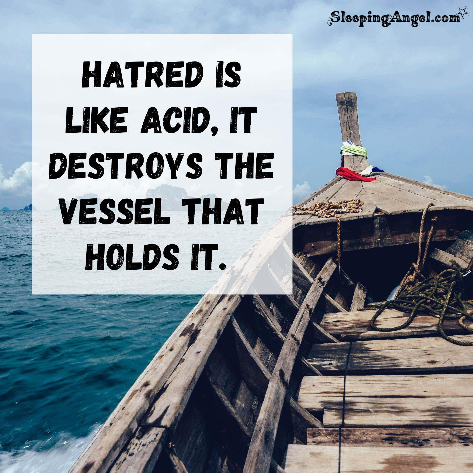 Hatred Quote