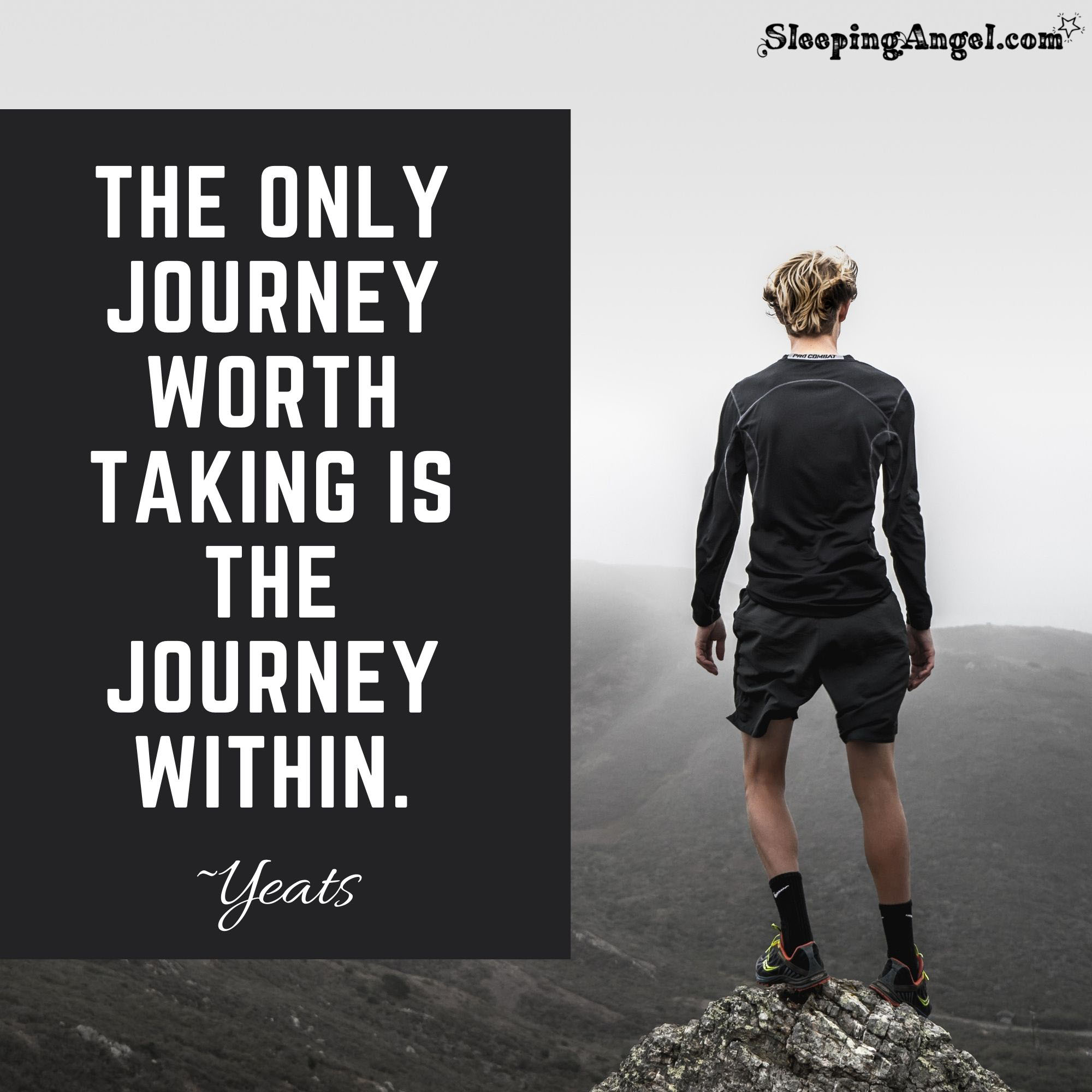 Our Journey Within Quote