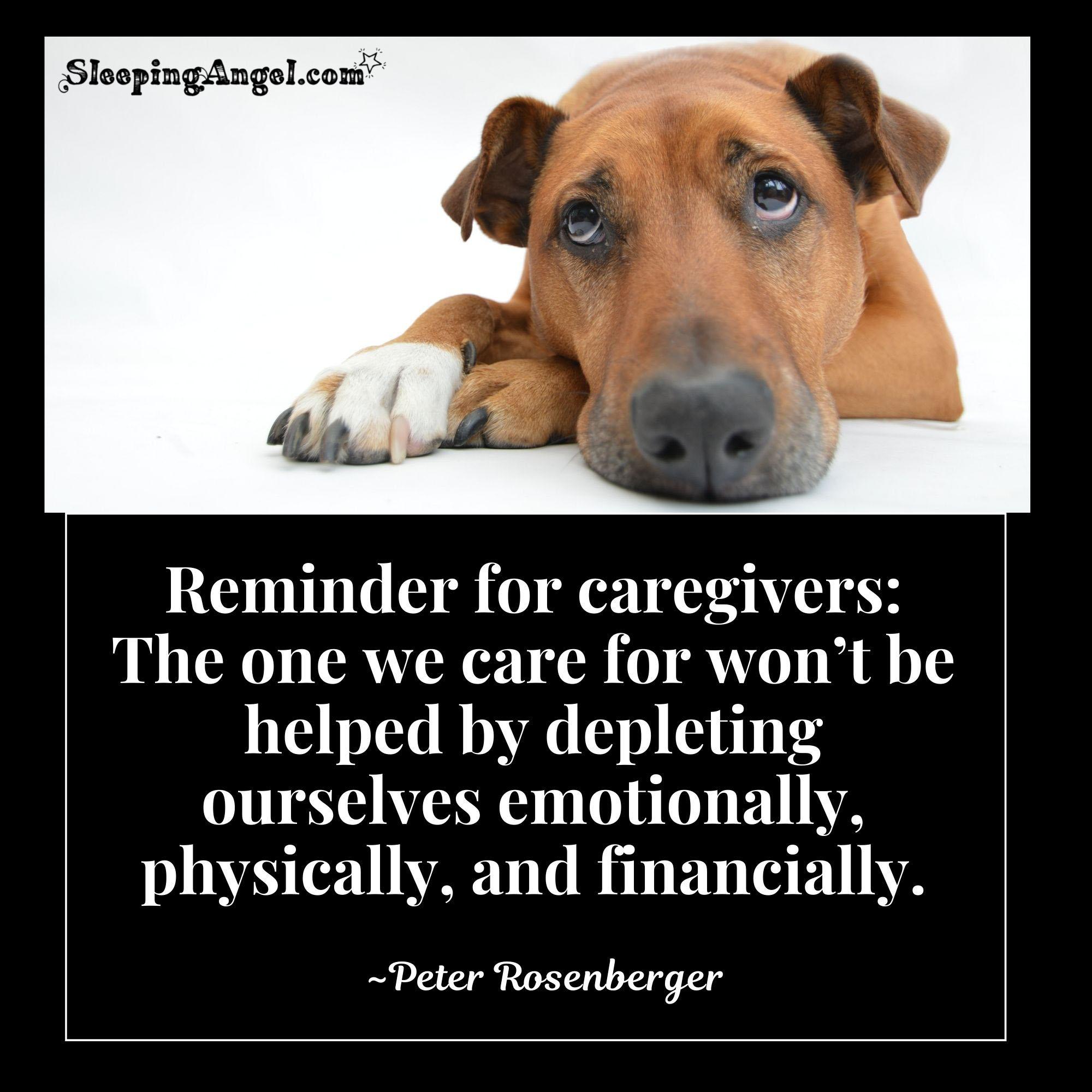 Caregivers Quote