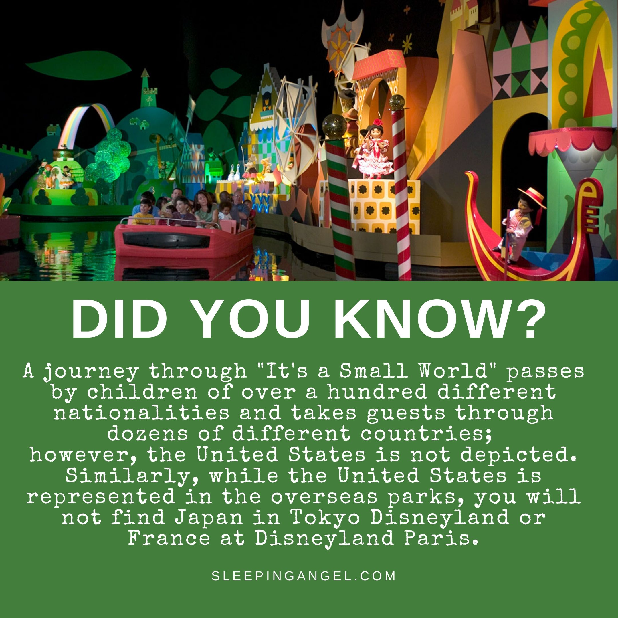 Did You Know? It's a Small World