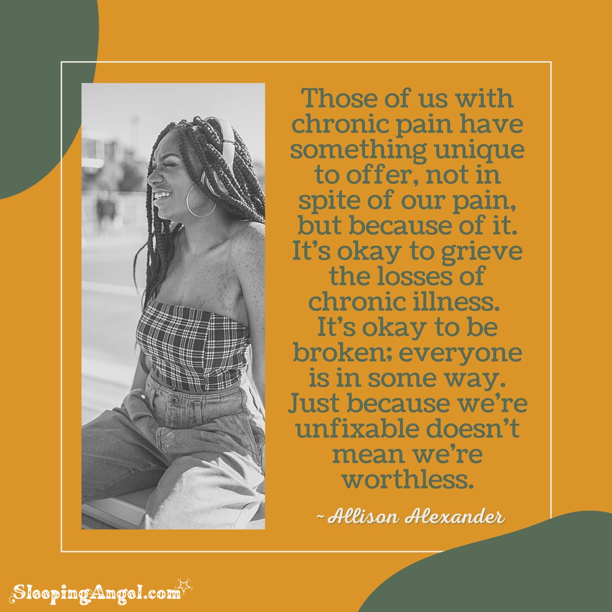 Chronic Illness Quote