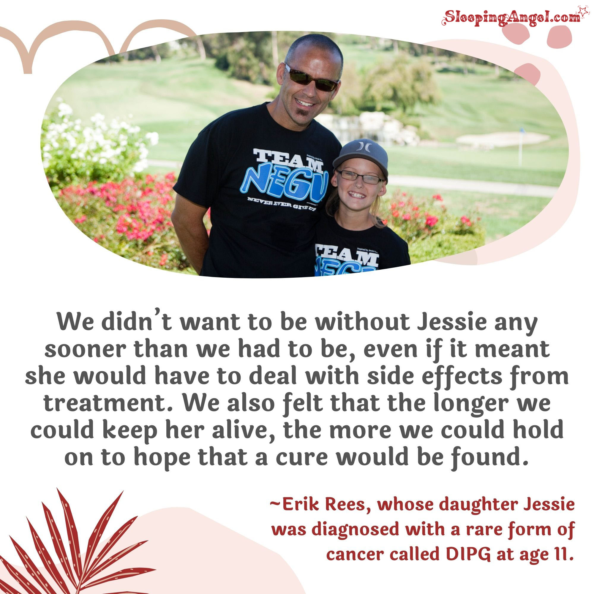 Hope for a Cure Quote