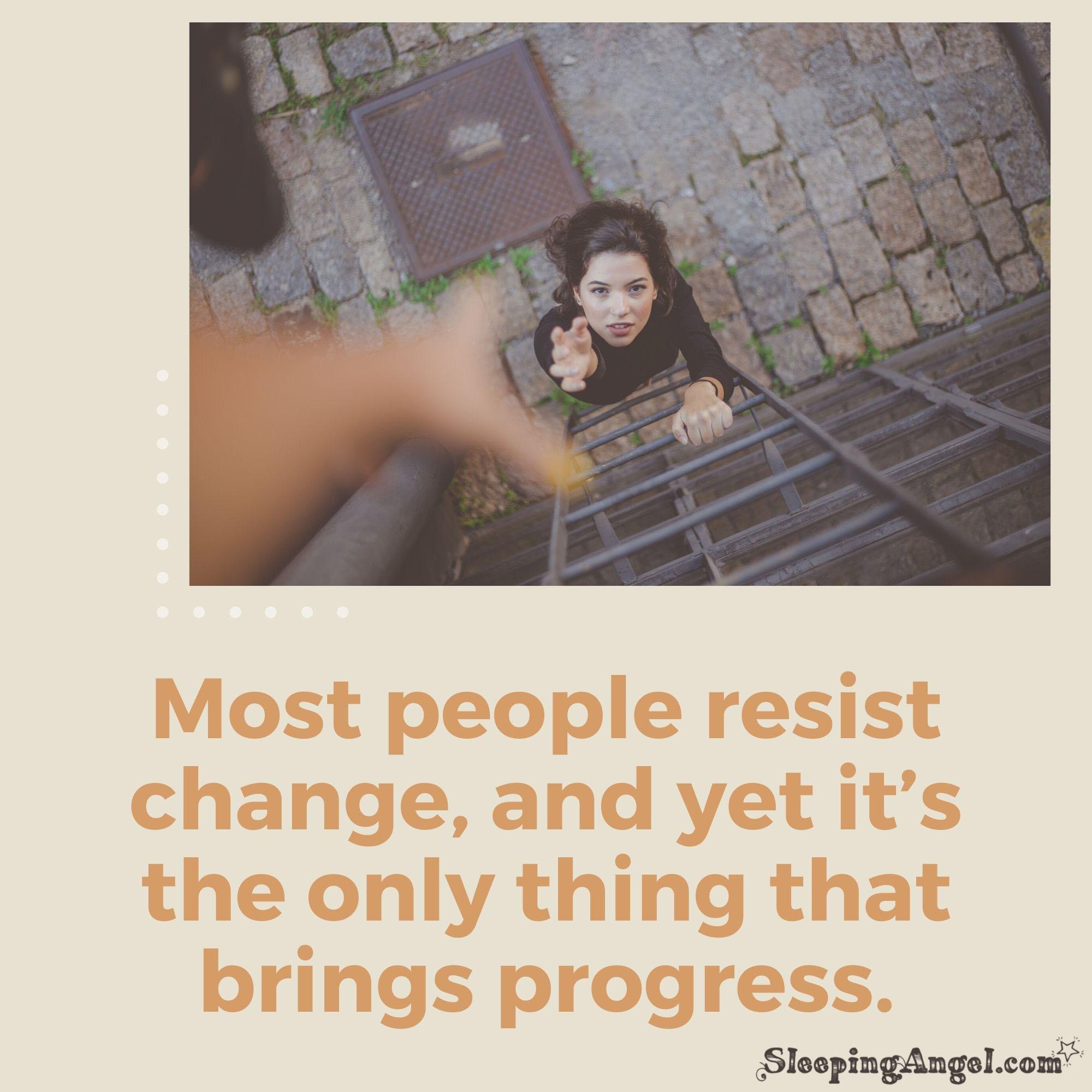 Progress Quote