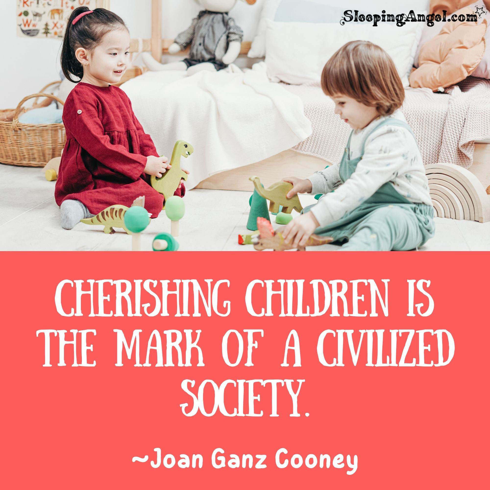 Cherishing Children Quote