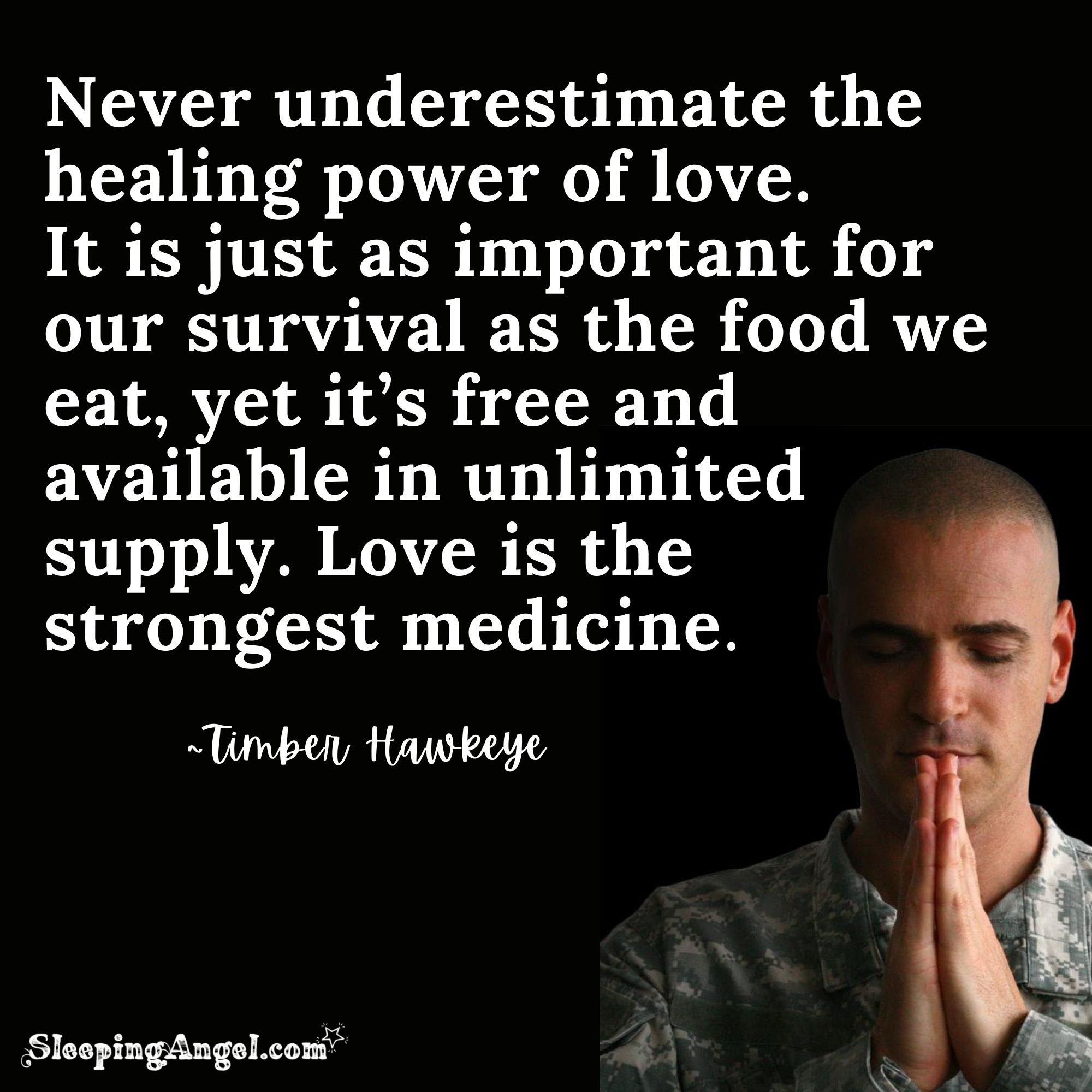 The Power of Love Quote
