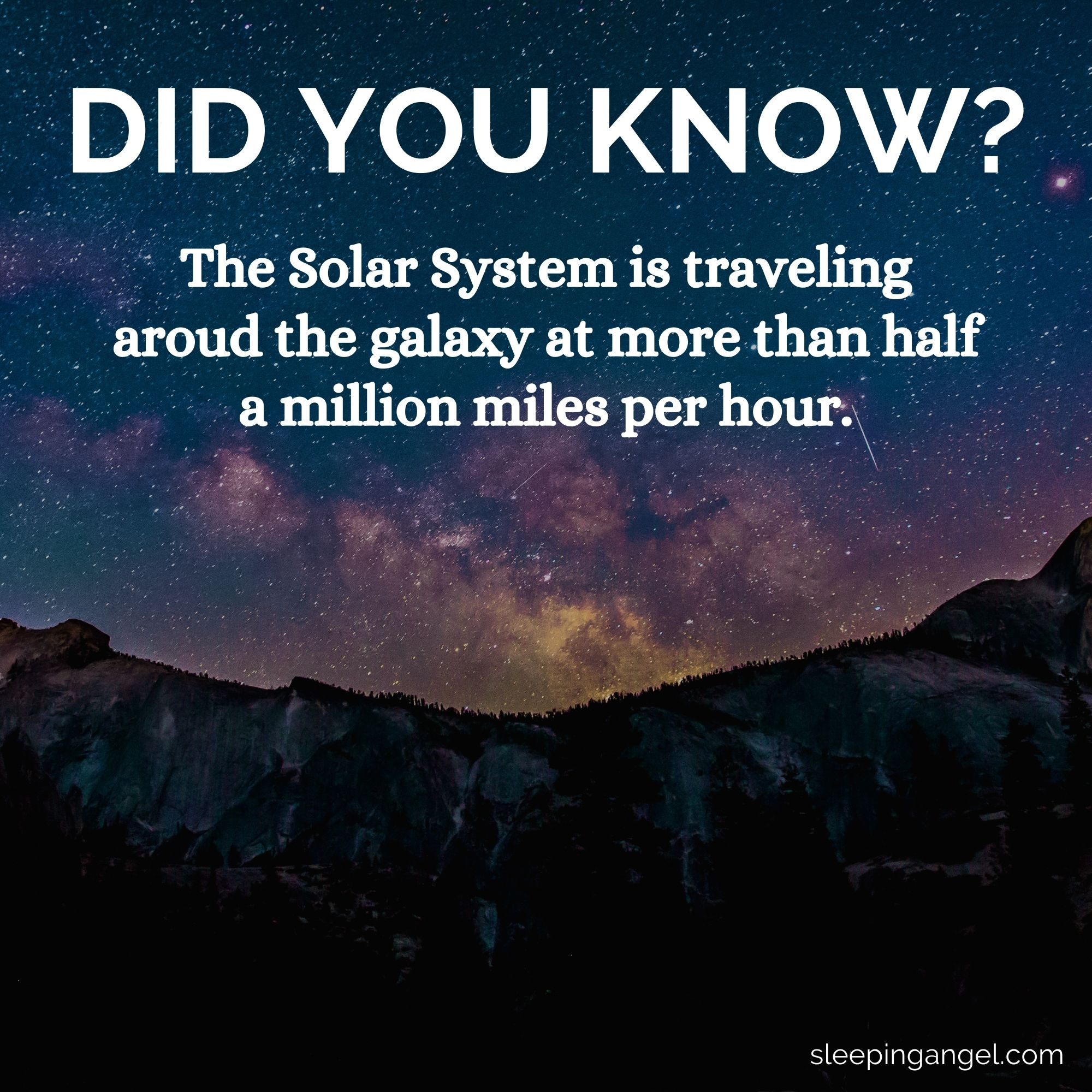 Did You Know? The Solar System