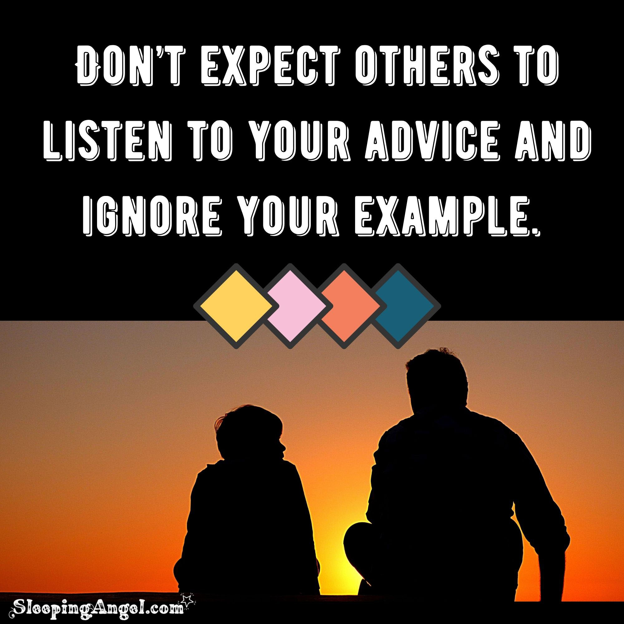 Be an Example Quote