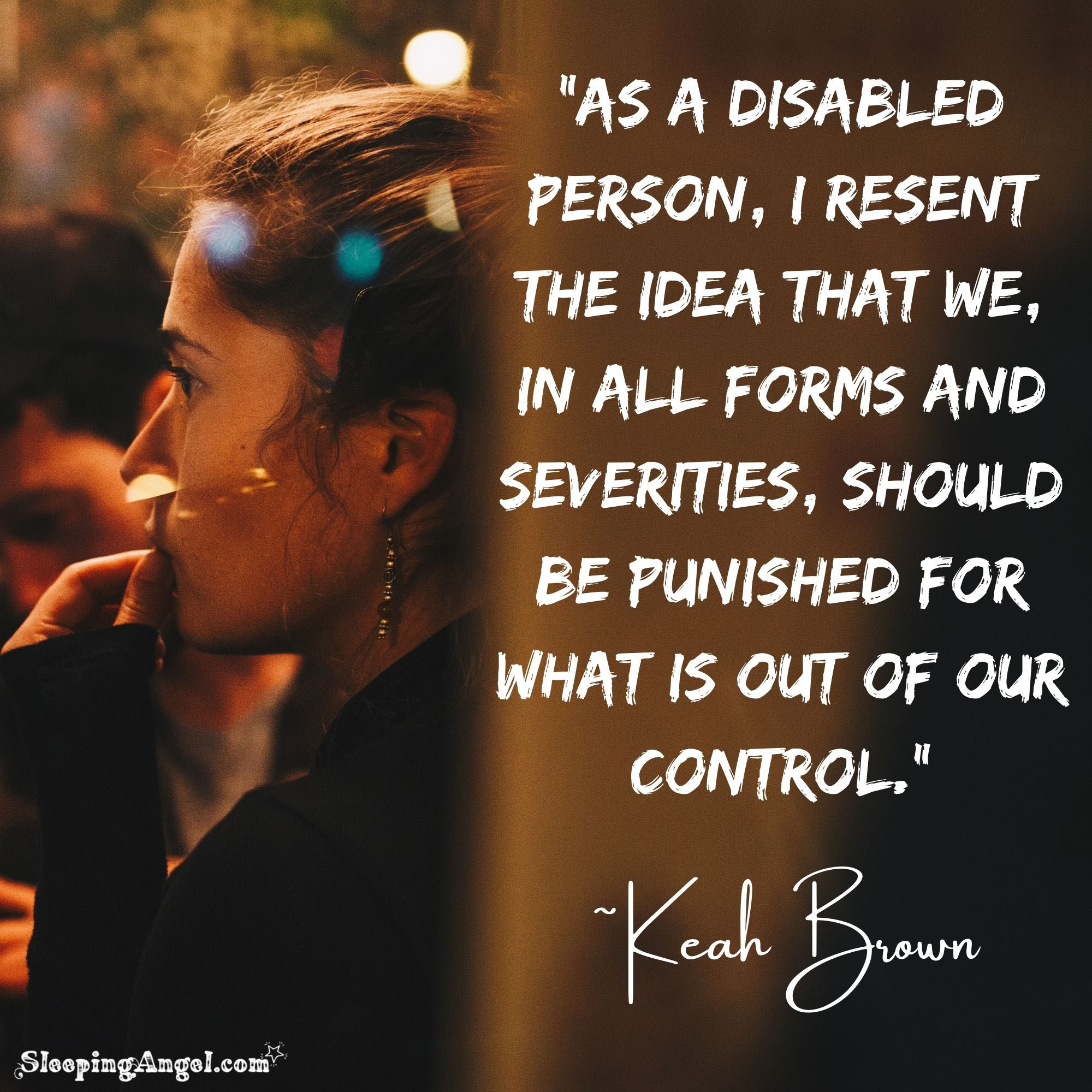 Disabled Person Quote
