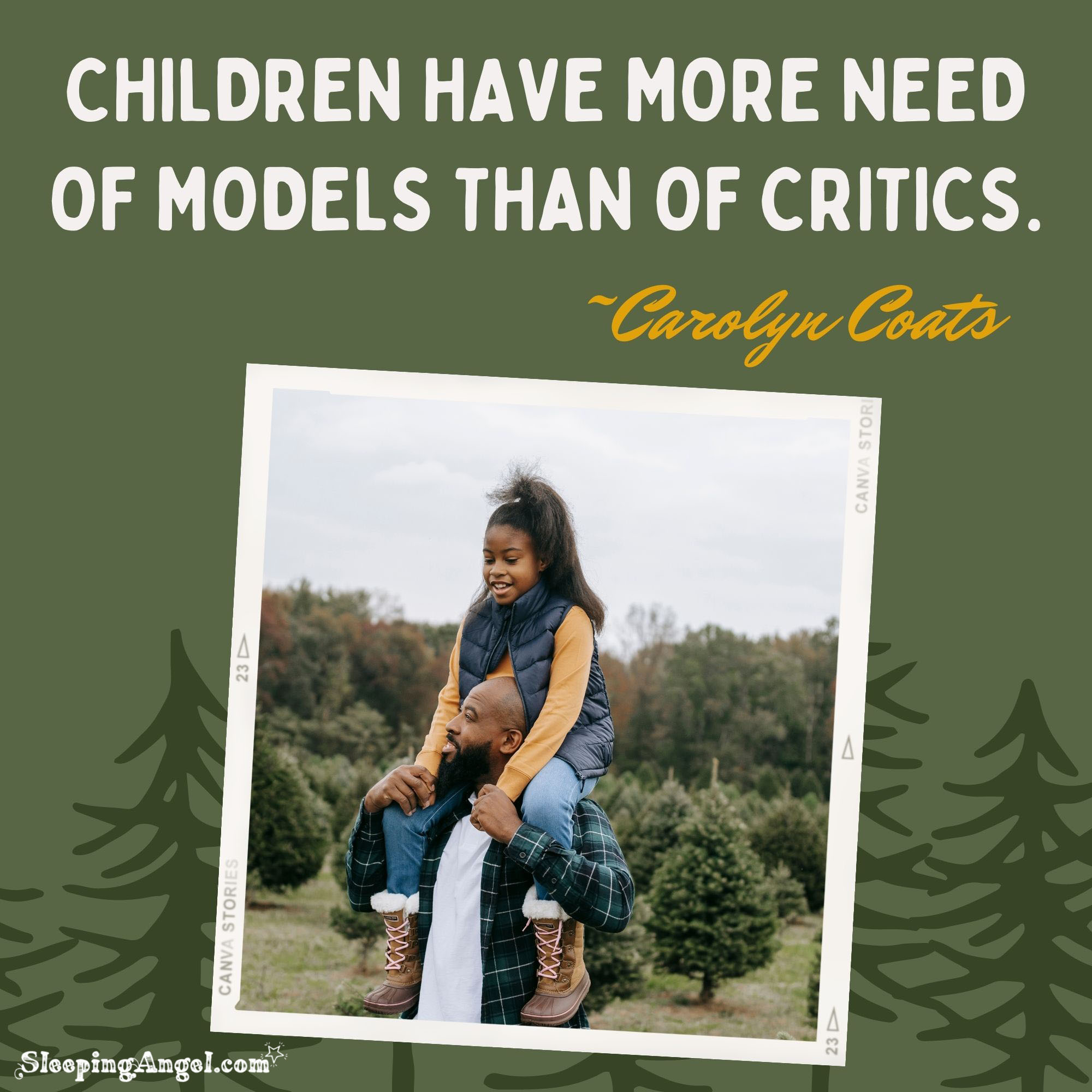 Children Need Models Quote
