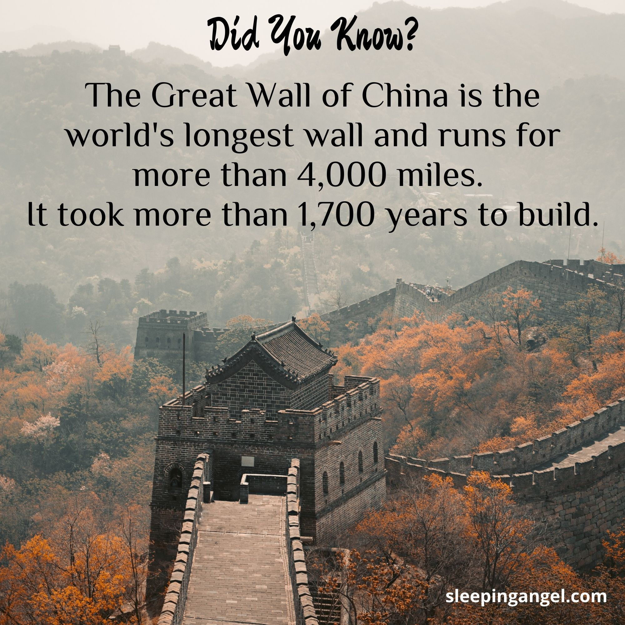 Did You Know? The Great Wall of China