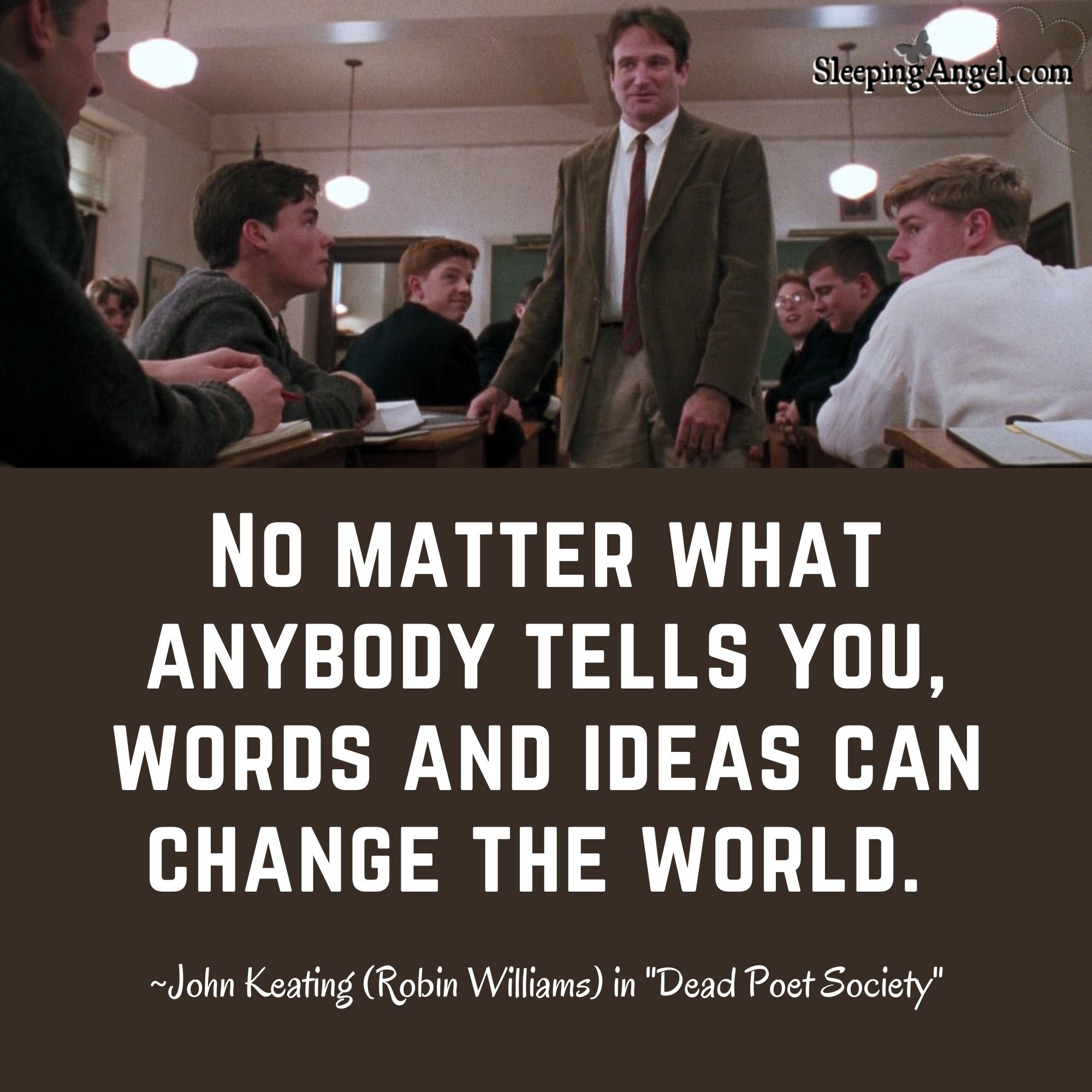 Change the World Quote