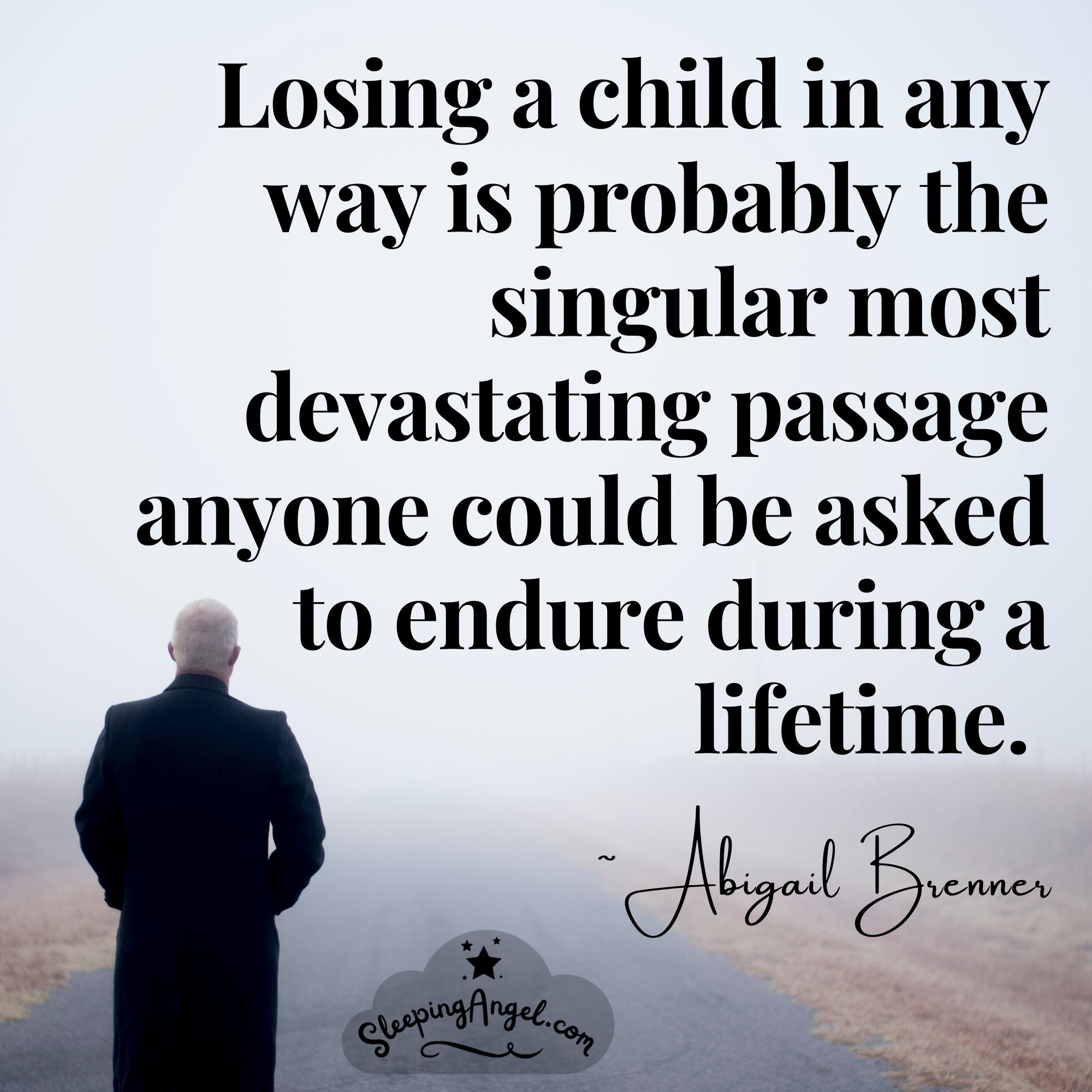 Losing a Child Quote
